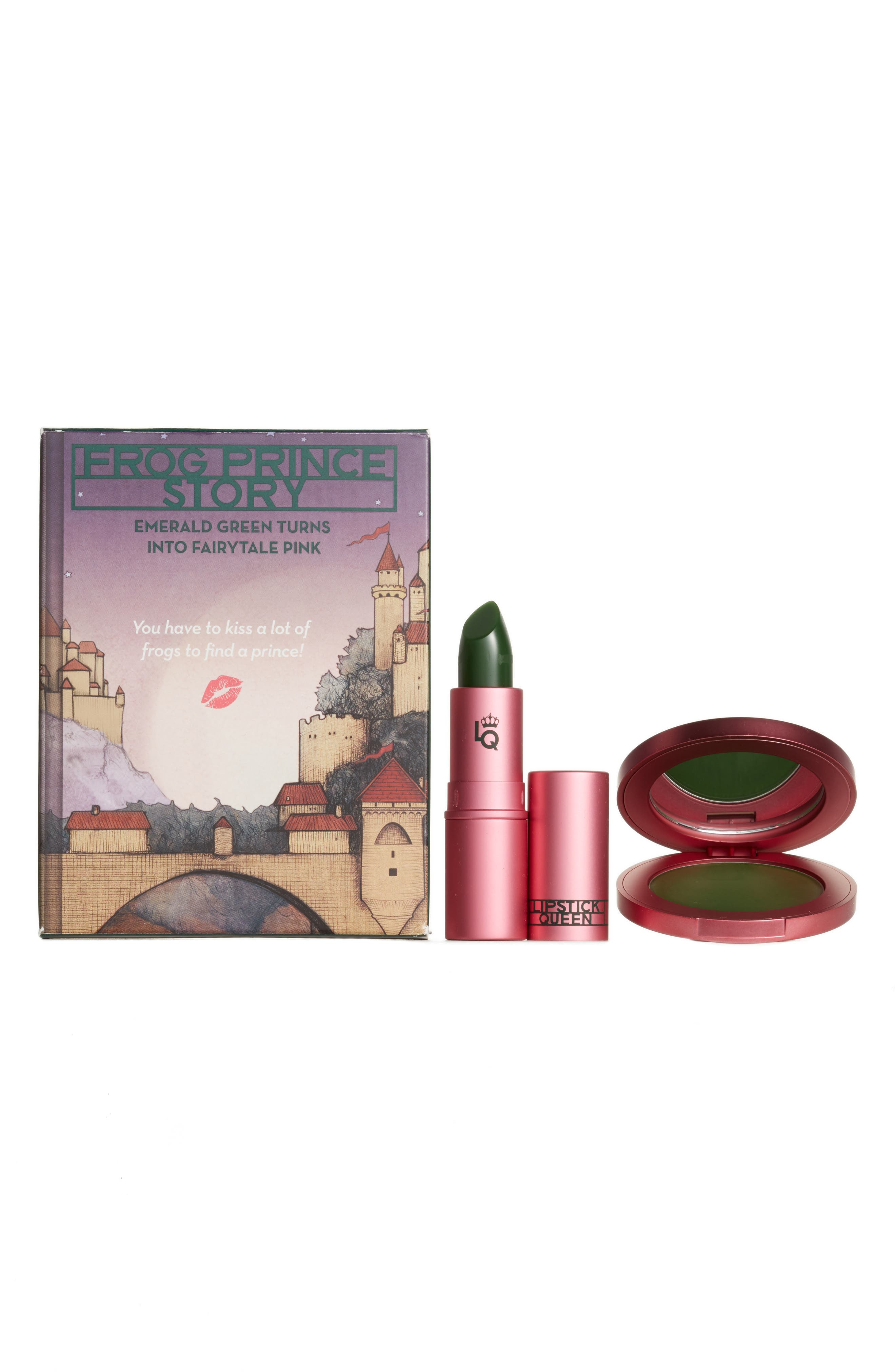 SPACE.NK.apothecary Lipstick Queen Frog Prince Color Changing Duo,                             Main thumbnail 1, color,                             No Color