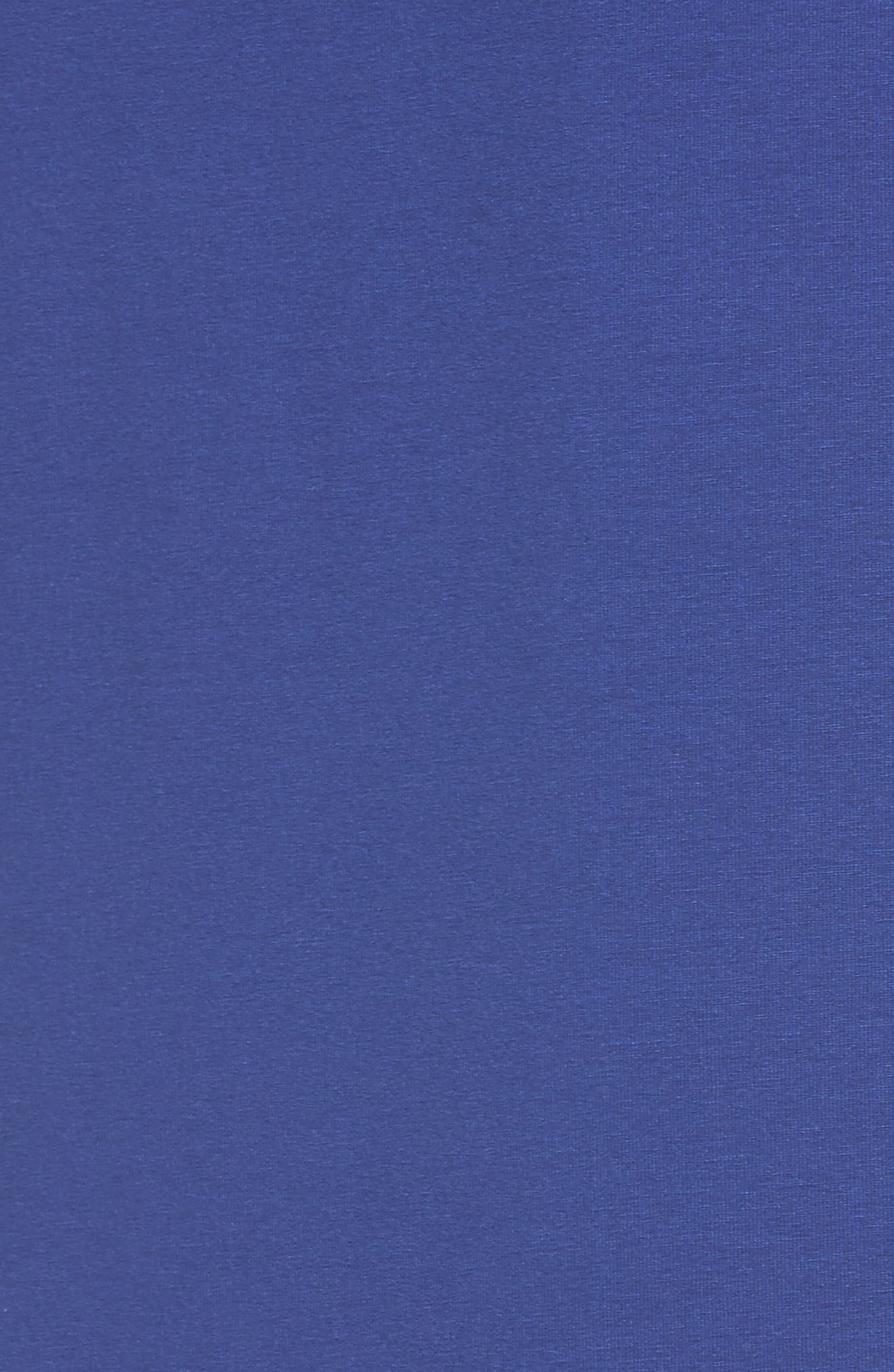 Jersey Shift Dress,                             Alternate thumbnail 6, color,                             Persian Blue