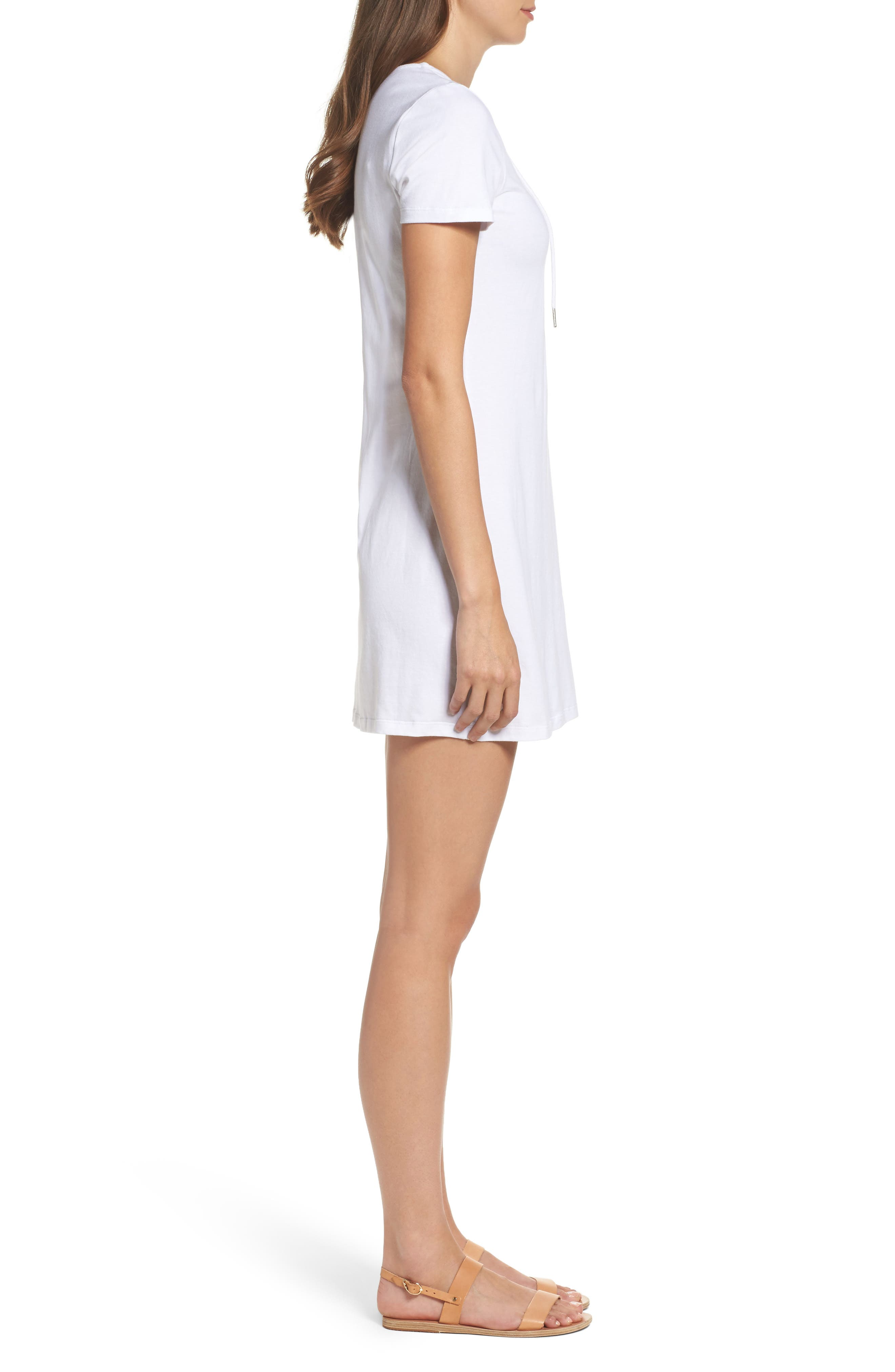 Alternate Image 3  - Bardot Lace-Up Shirtdress