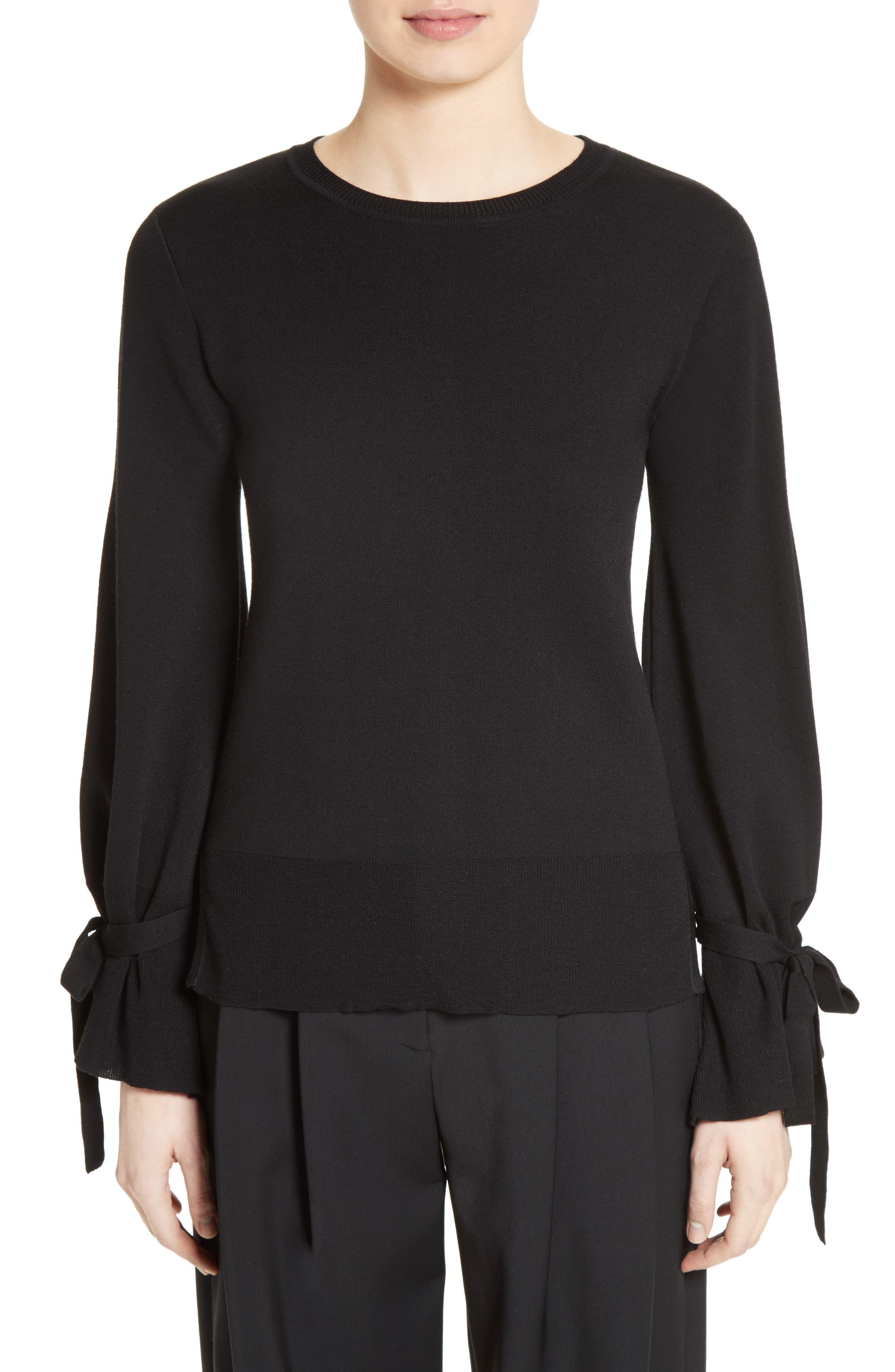 Main Image - Adam Lippes Merino Wool Bell Sleeve Sweater