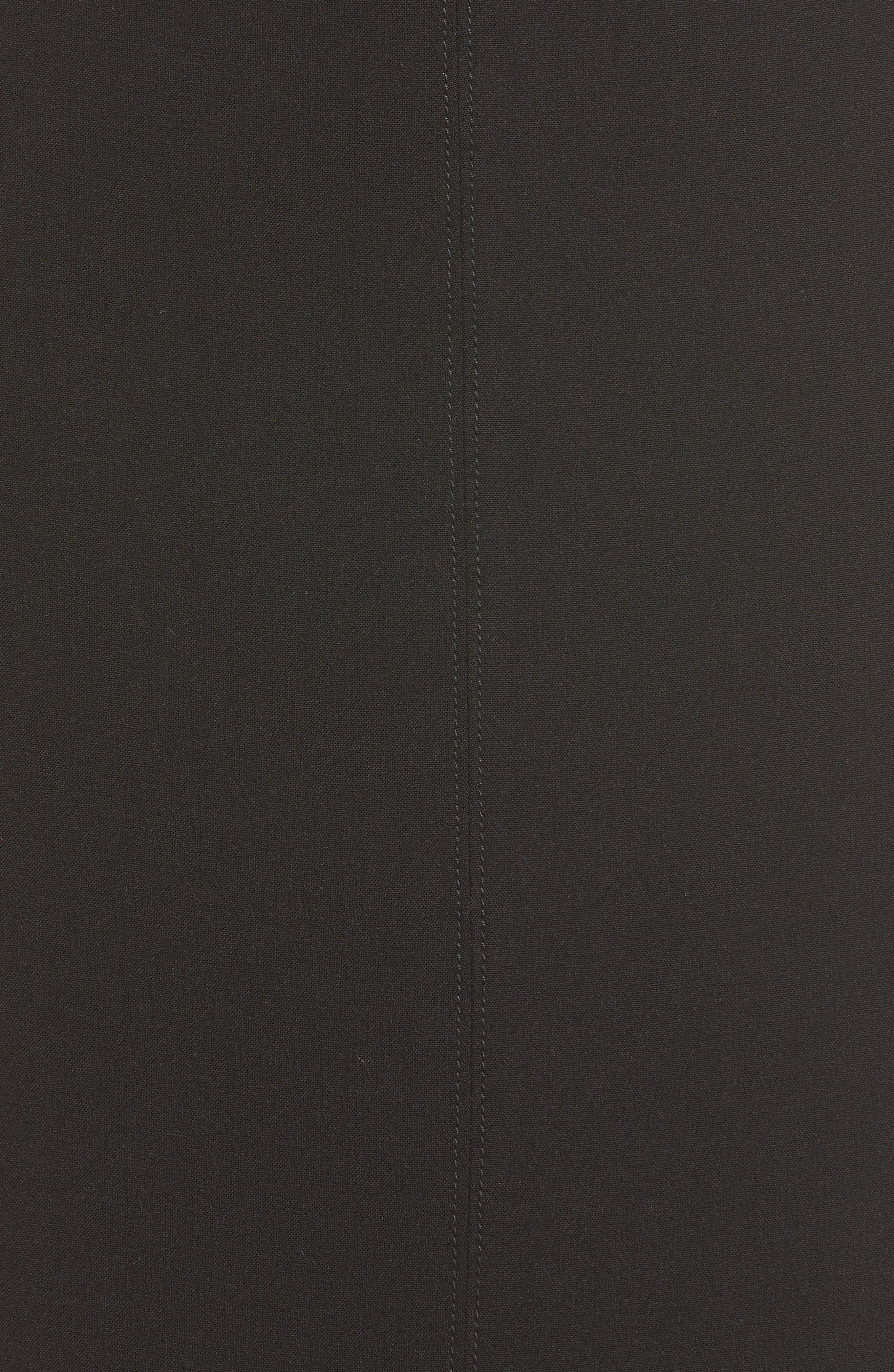 Alternate Image 5  - Halogen® Seamed Pencil Skirt (Regular & Petite)
