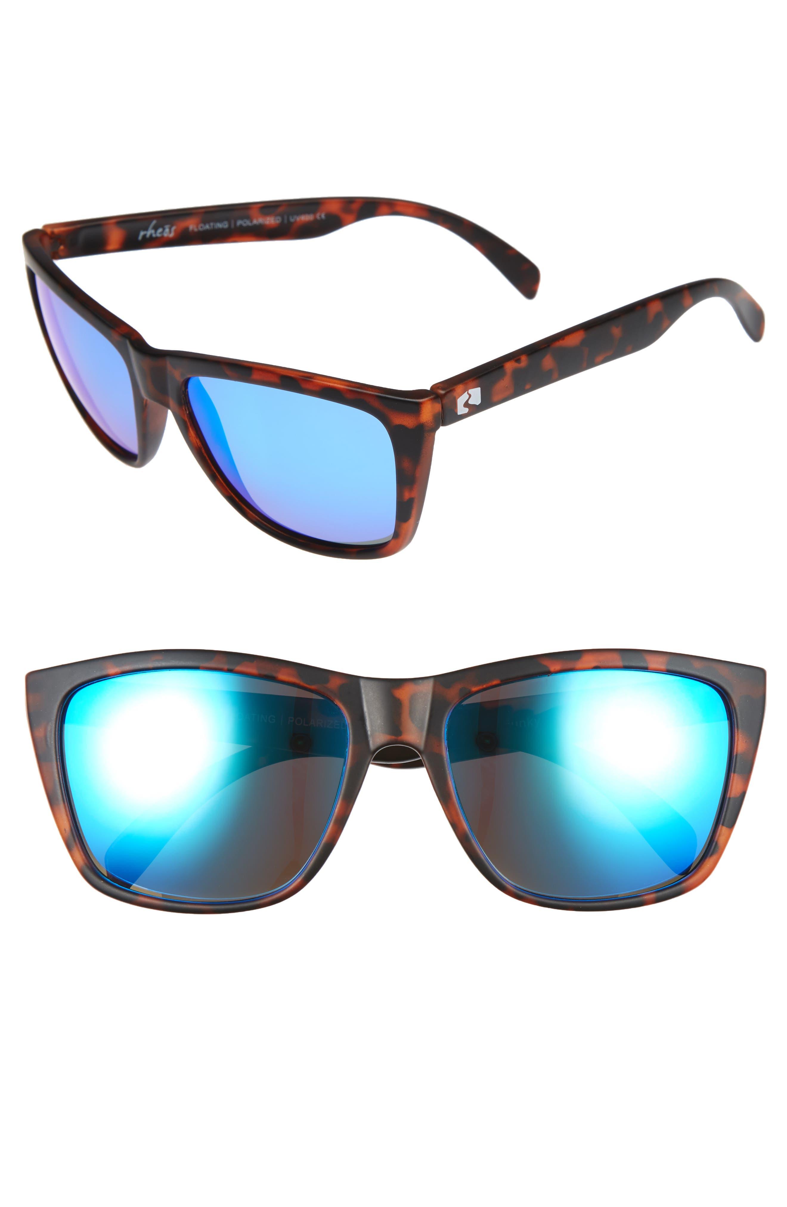 Sapelos Floating 61mm Polarized Sunglasses,                             Main thumbnail 1, color,                             Tortoise/ Marine