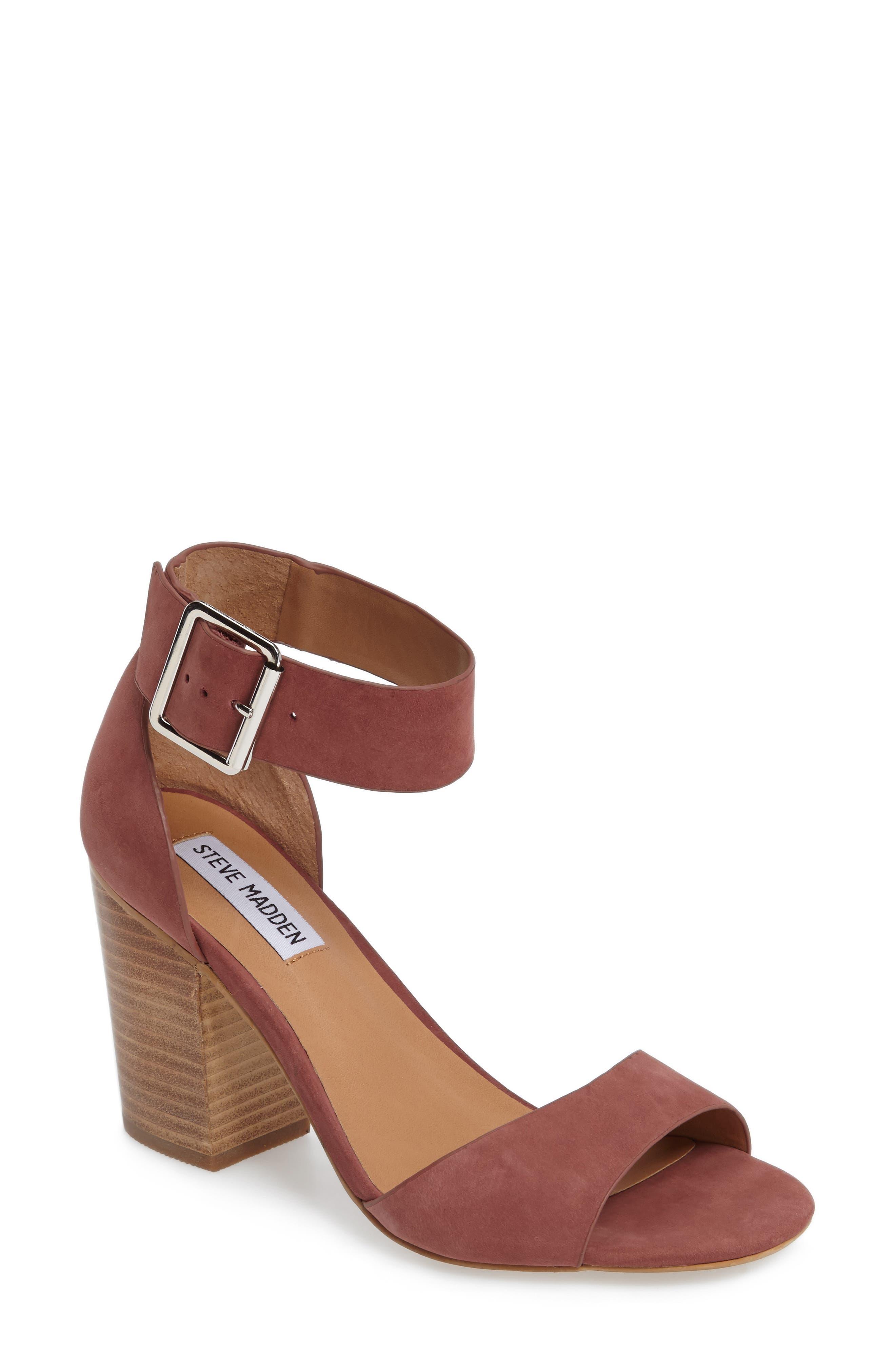 Steve Madden Gerard Block Heel Sandal (Women)