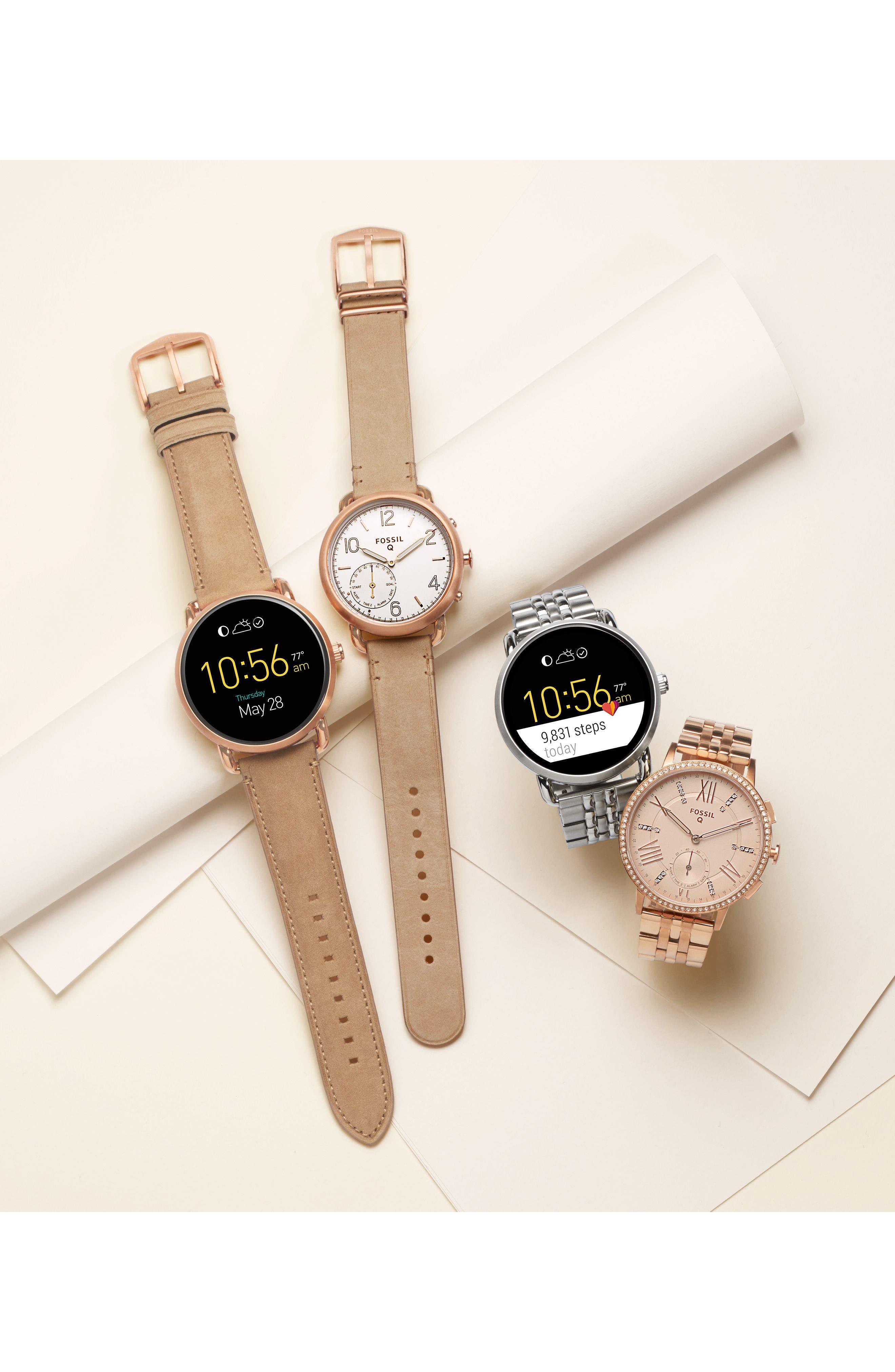 Gazer Bracelet Watch, 41mm,                             Alternate thumbnail 5, color,