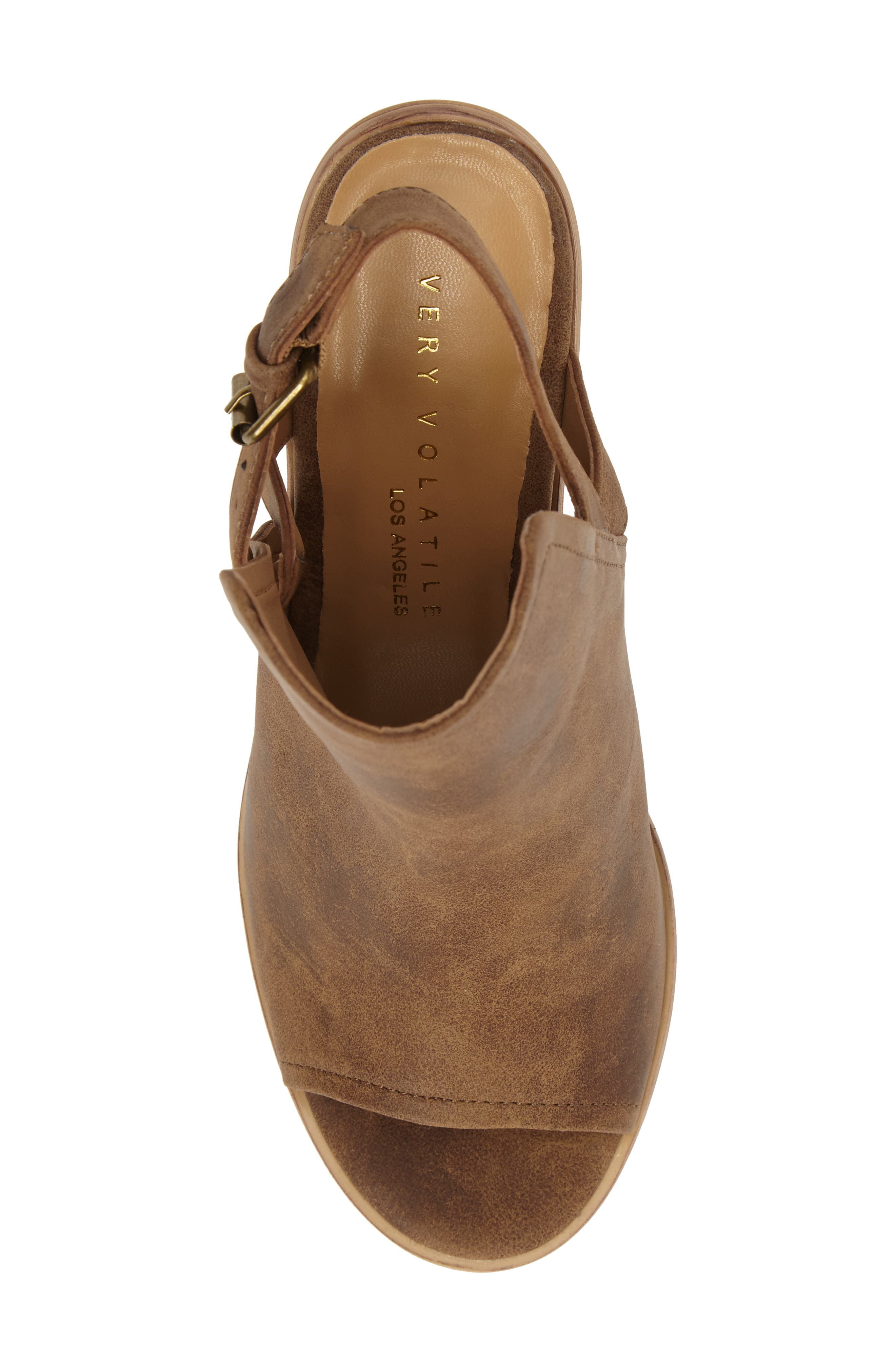 Bolten Sandal,                             Alternate thumbnail 5, color,                             Taupe Faux Leather
