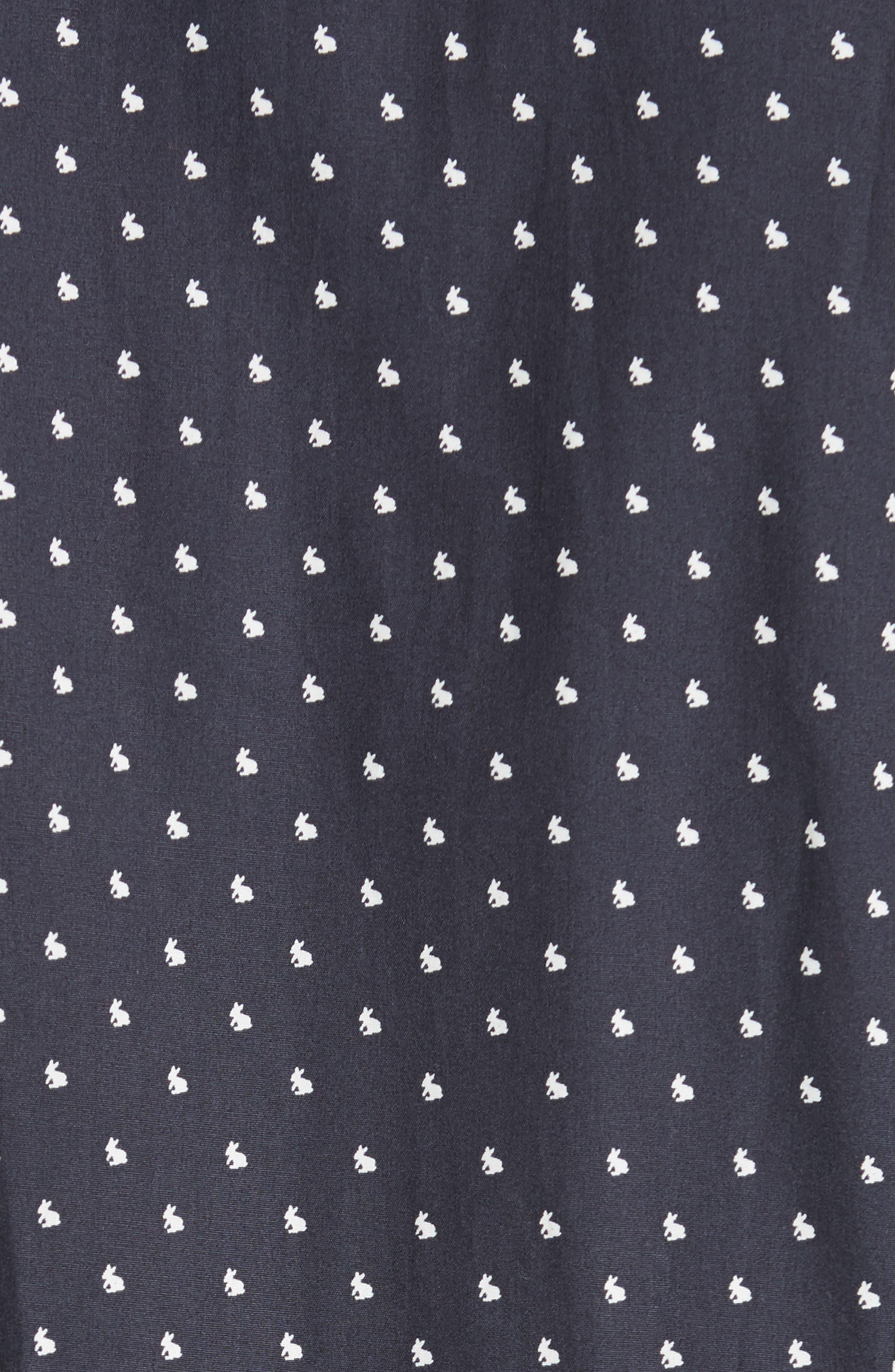Alternate Image 5  - Paul Smith Rabbit Print Sport Shirt