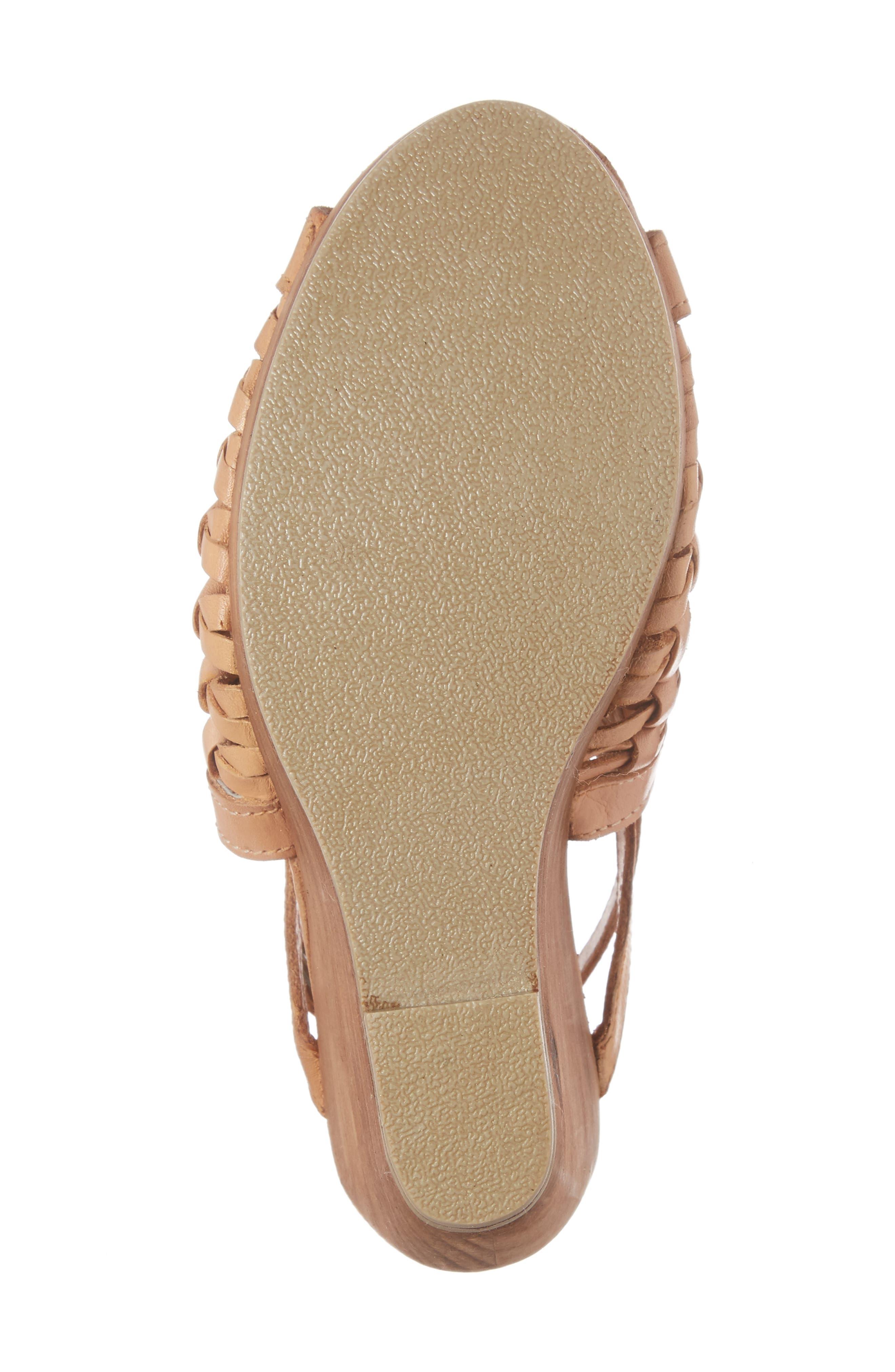 Alternate Image 6  - Very Volatile Carry Wedge Sandal (Women)