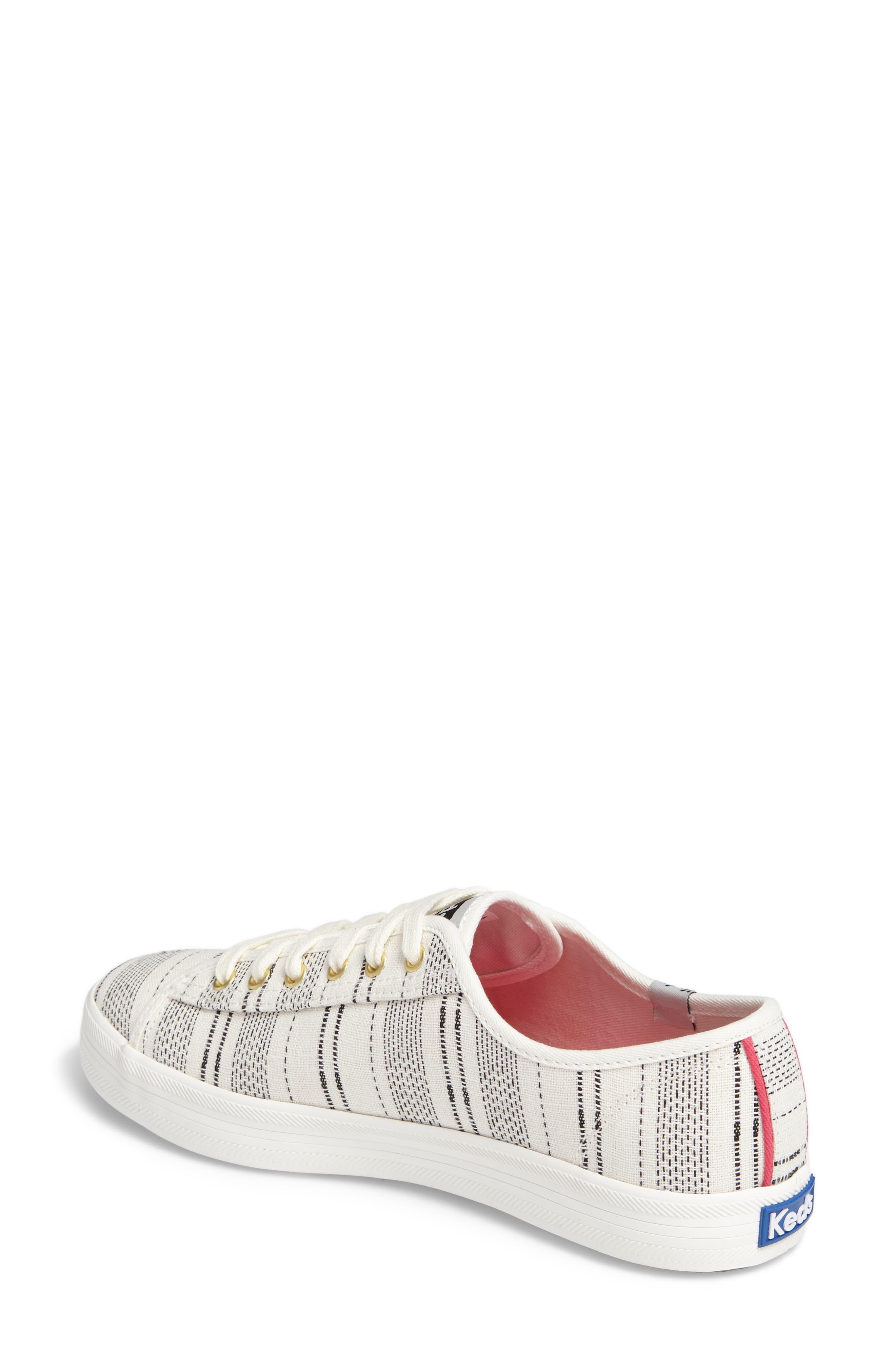 Kickstart Baja Stripe Sneaker,                             Alternate thumbnail 2, color,                             Cream