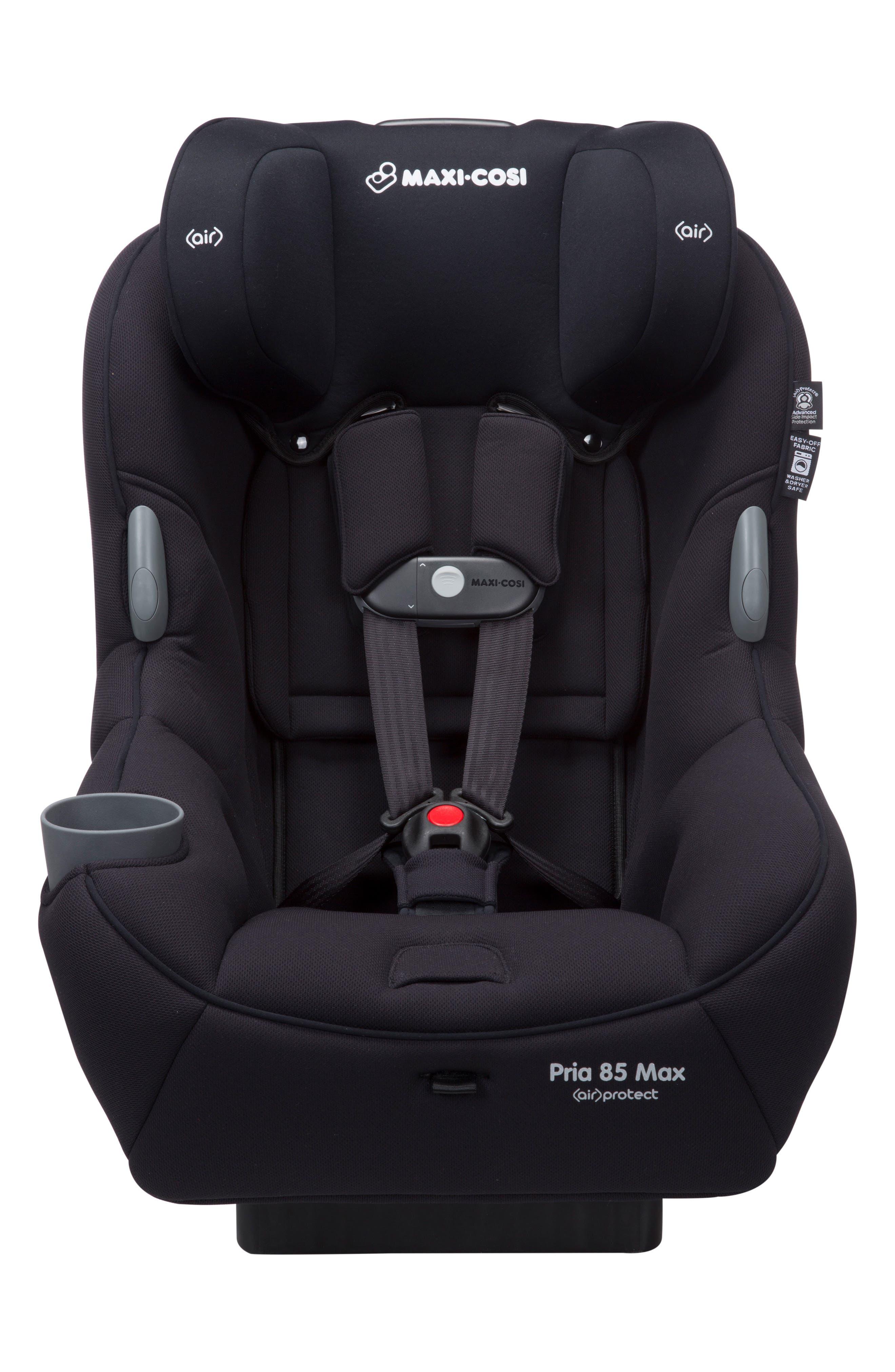 Pria<sup>™</sup> 85 Max Convertible Car Seat,                             Alternate thumbnail 7, color,                             Night Black