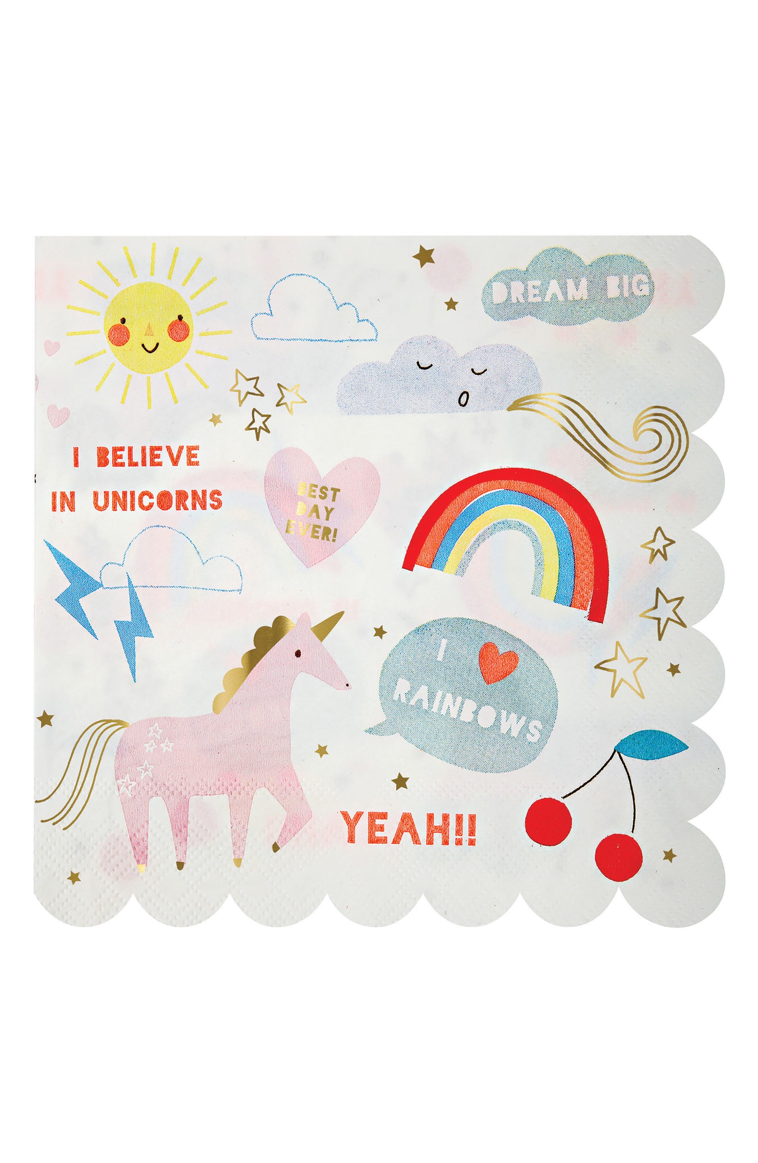 Alternate Image 3  - Meri Meri Unicorn Tableware Bundle