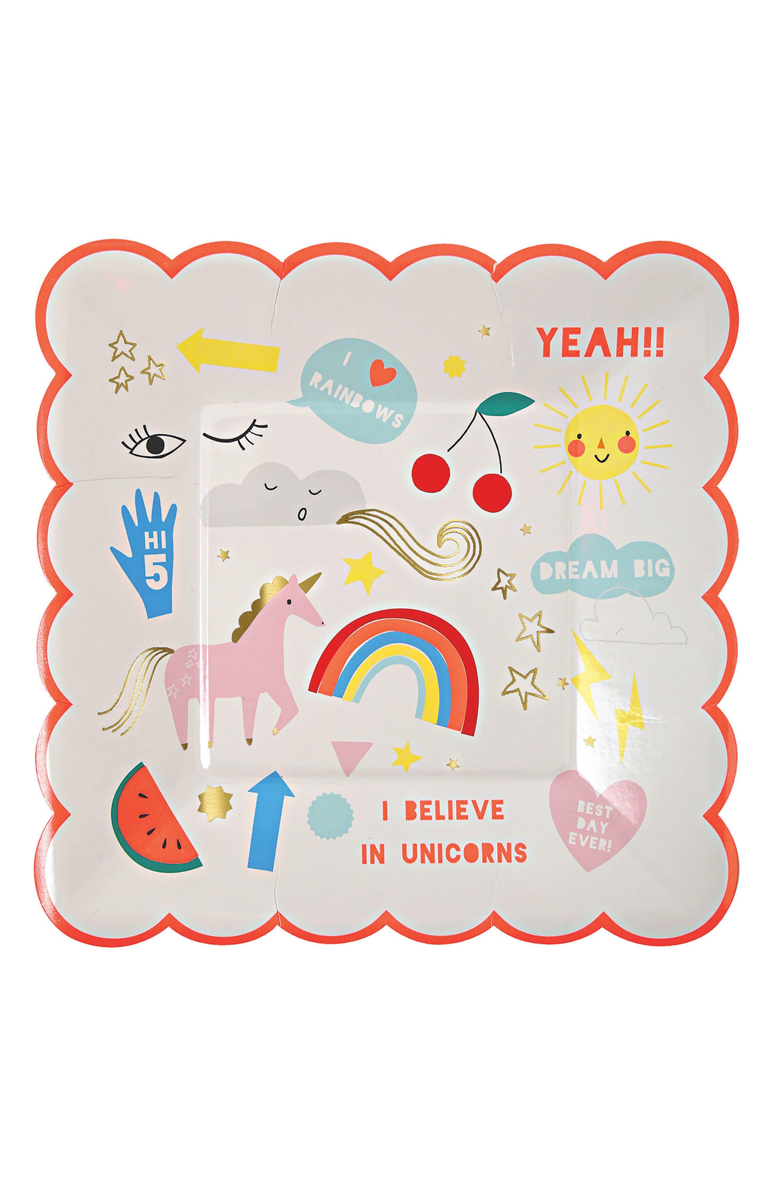 Alternate Image 8  - Meri Meri Unicorn Tableware Bundle