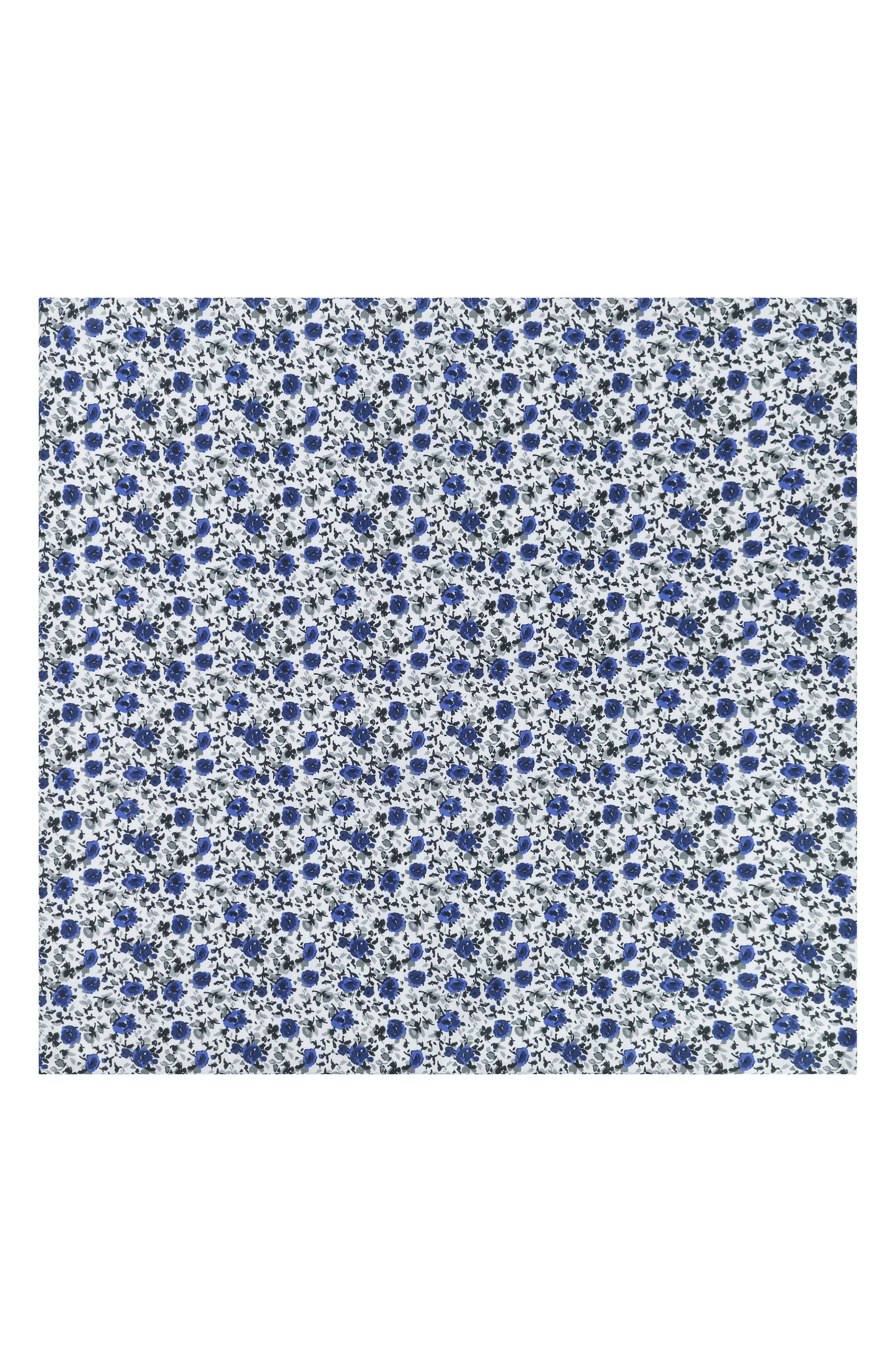Alternate Image 2  - Ted Baker London Floral Cotton Pocket Square