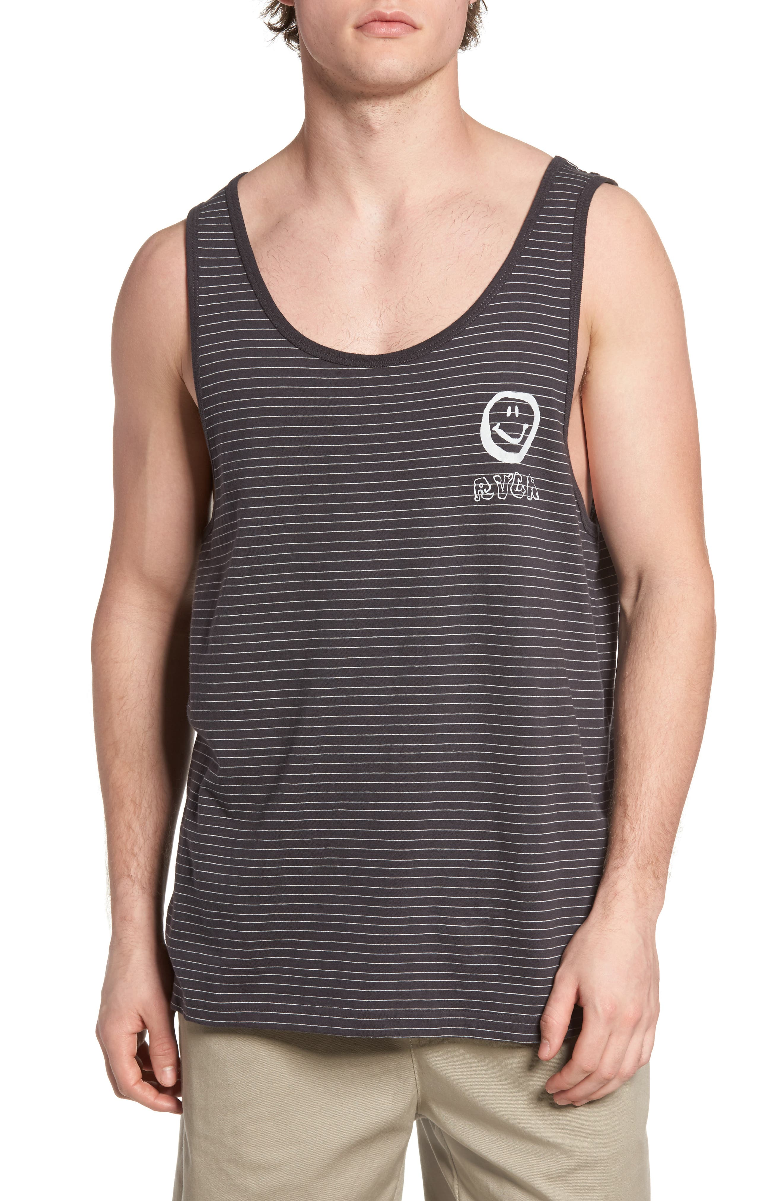 RVCA Nice Day Striped Tank