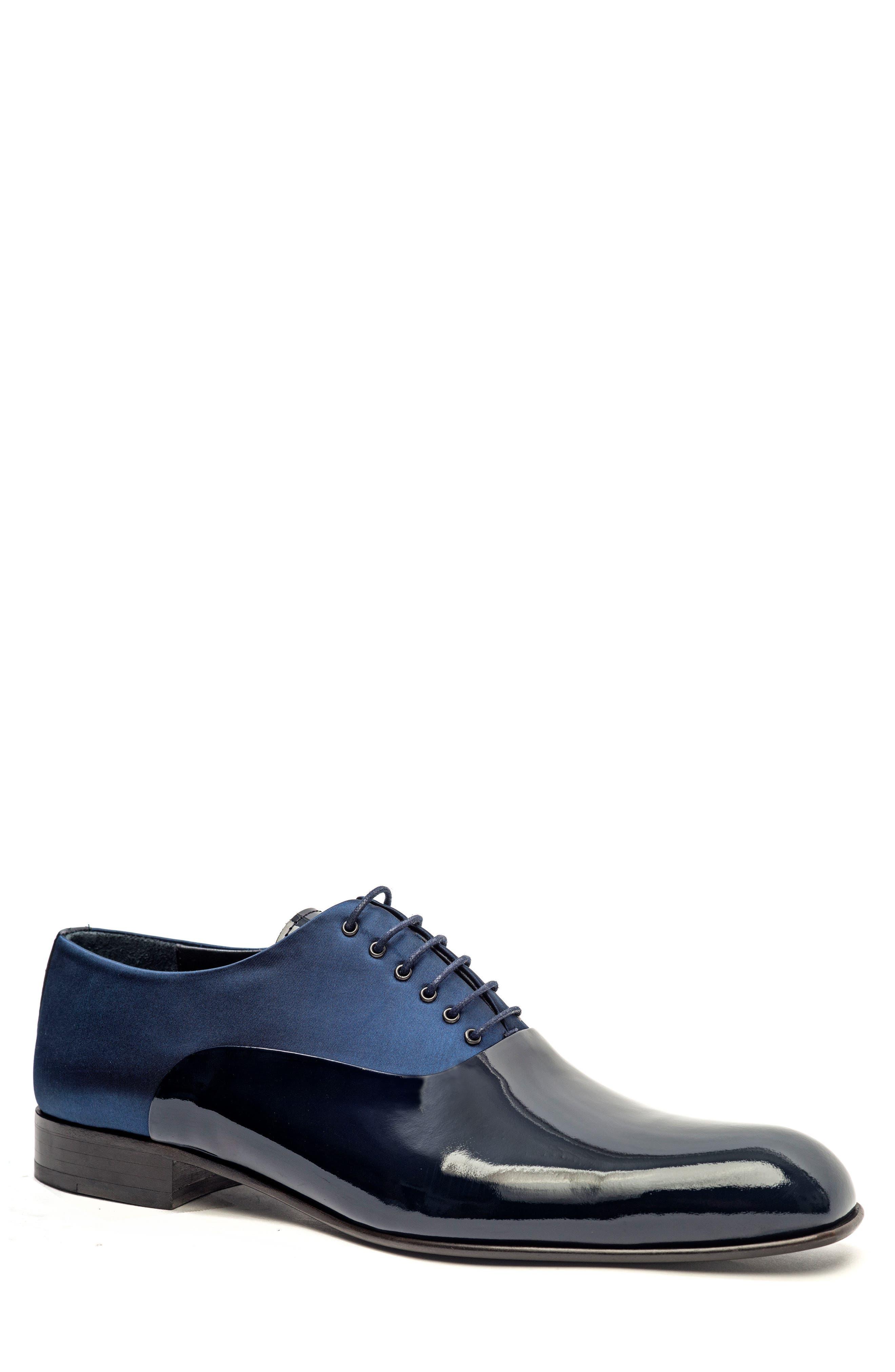 Plain Toe Oxford,                         Main,                         color, Navy