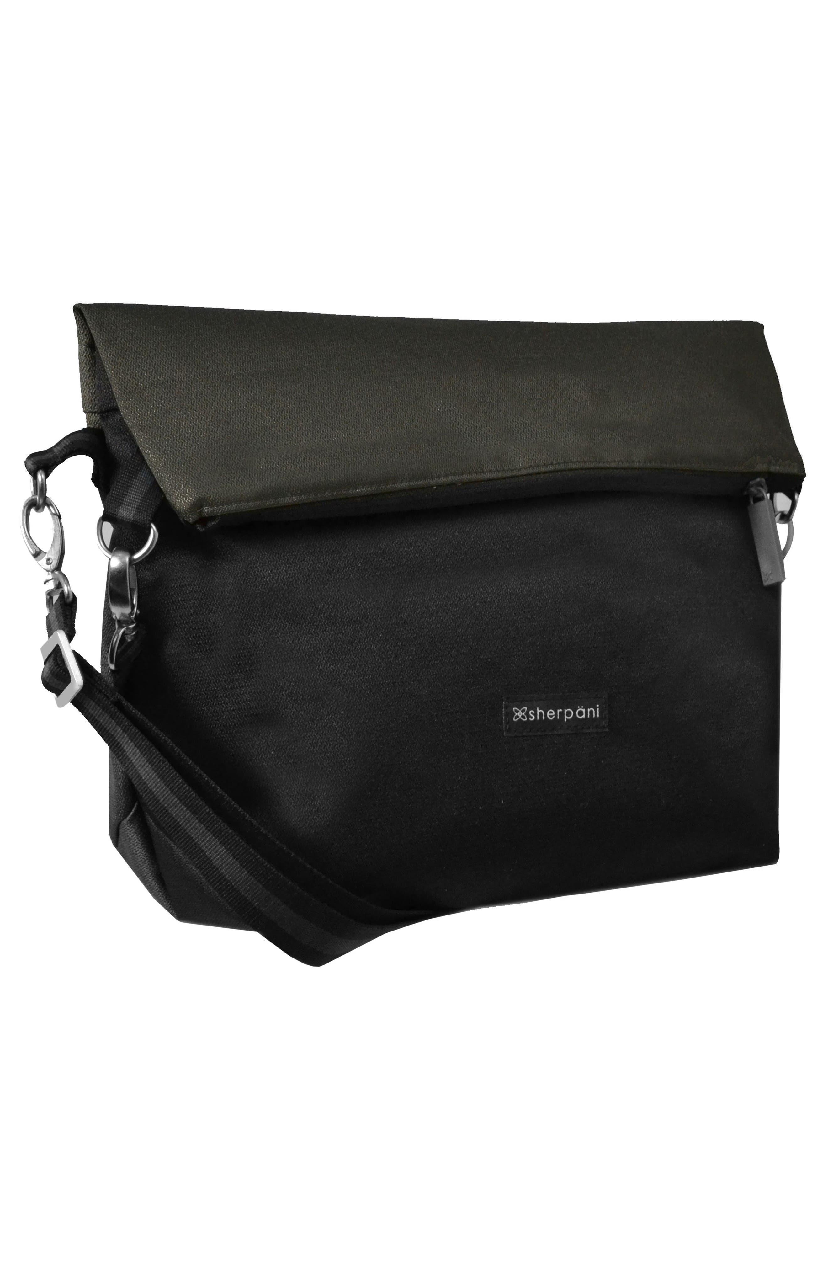 Vale Reversible Crossbody Bag,                             Alternate thumbnail 4, color,                             Ash