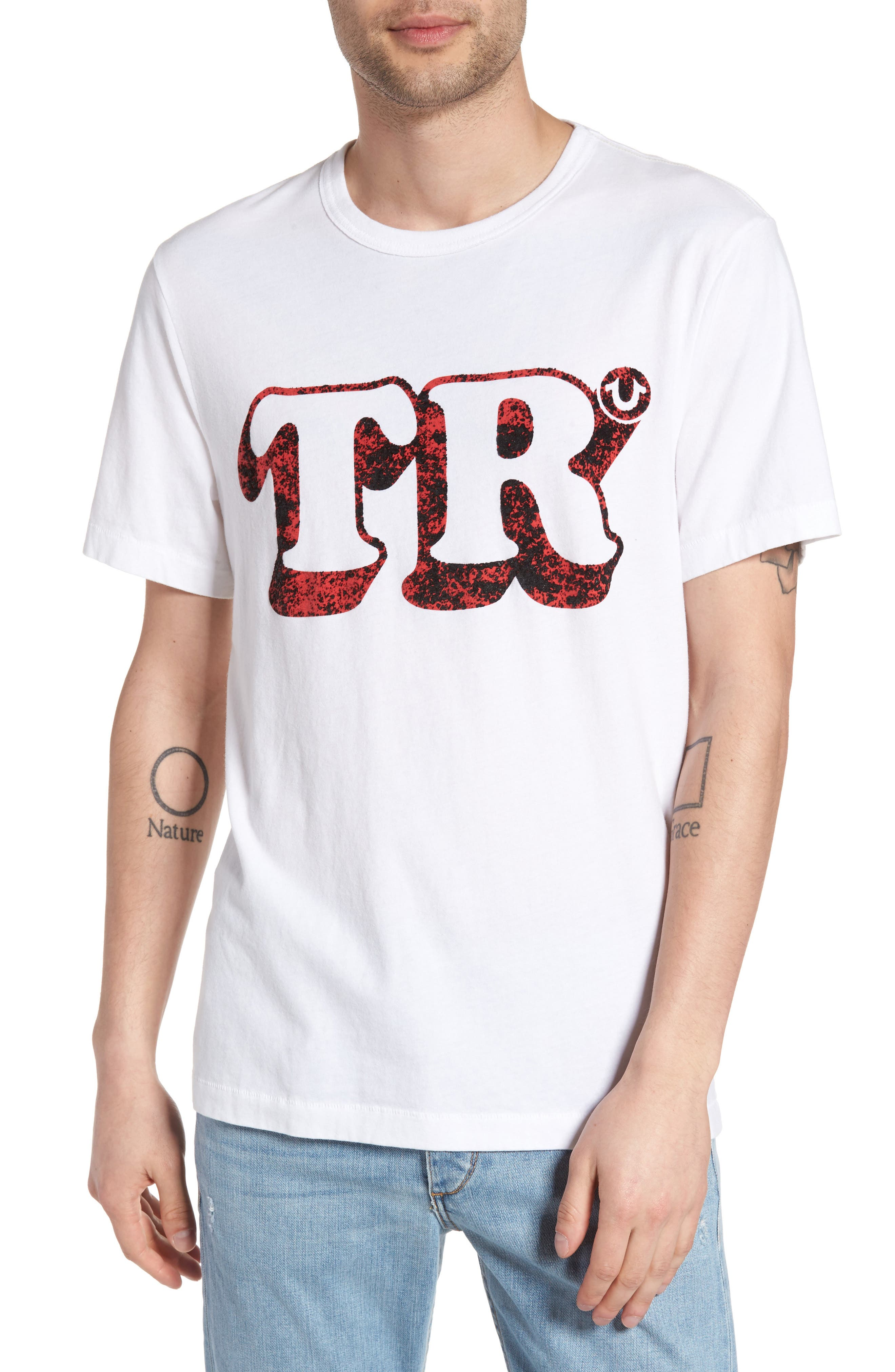 Alternate Image 1 Selected - True Religion Brand Jeans Copyright Graphic T-Shirt