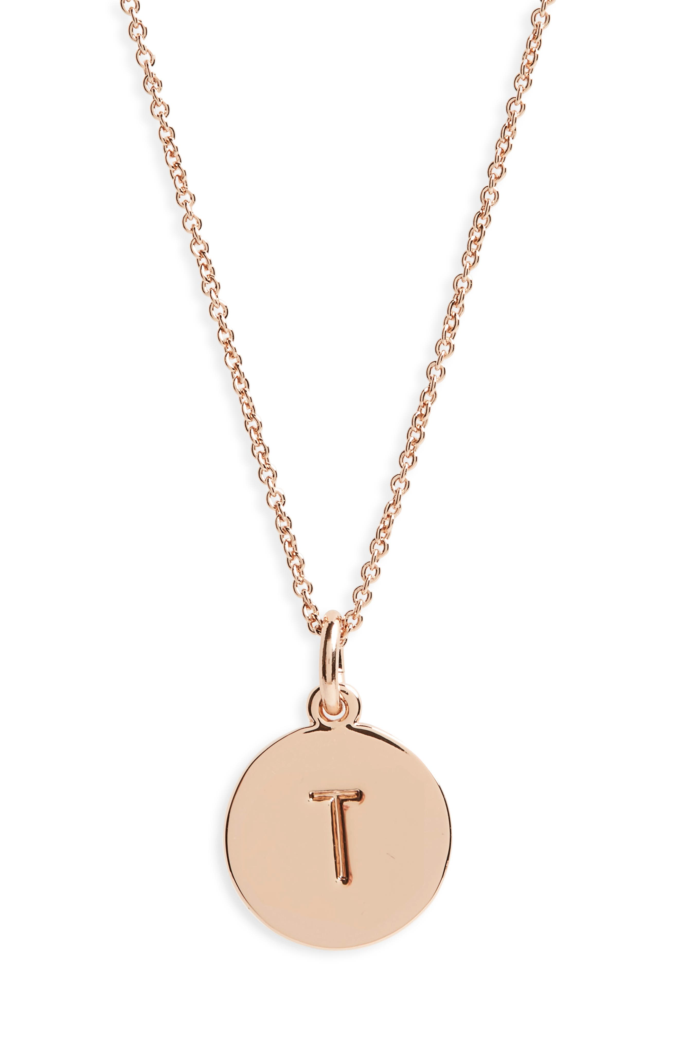 one in a million pendant necklace,                         Main,                         color, T/ Rose Gold