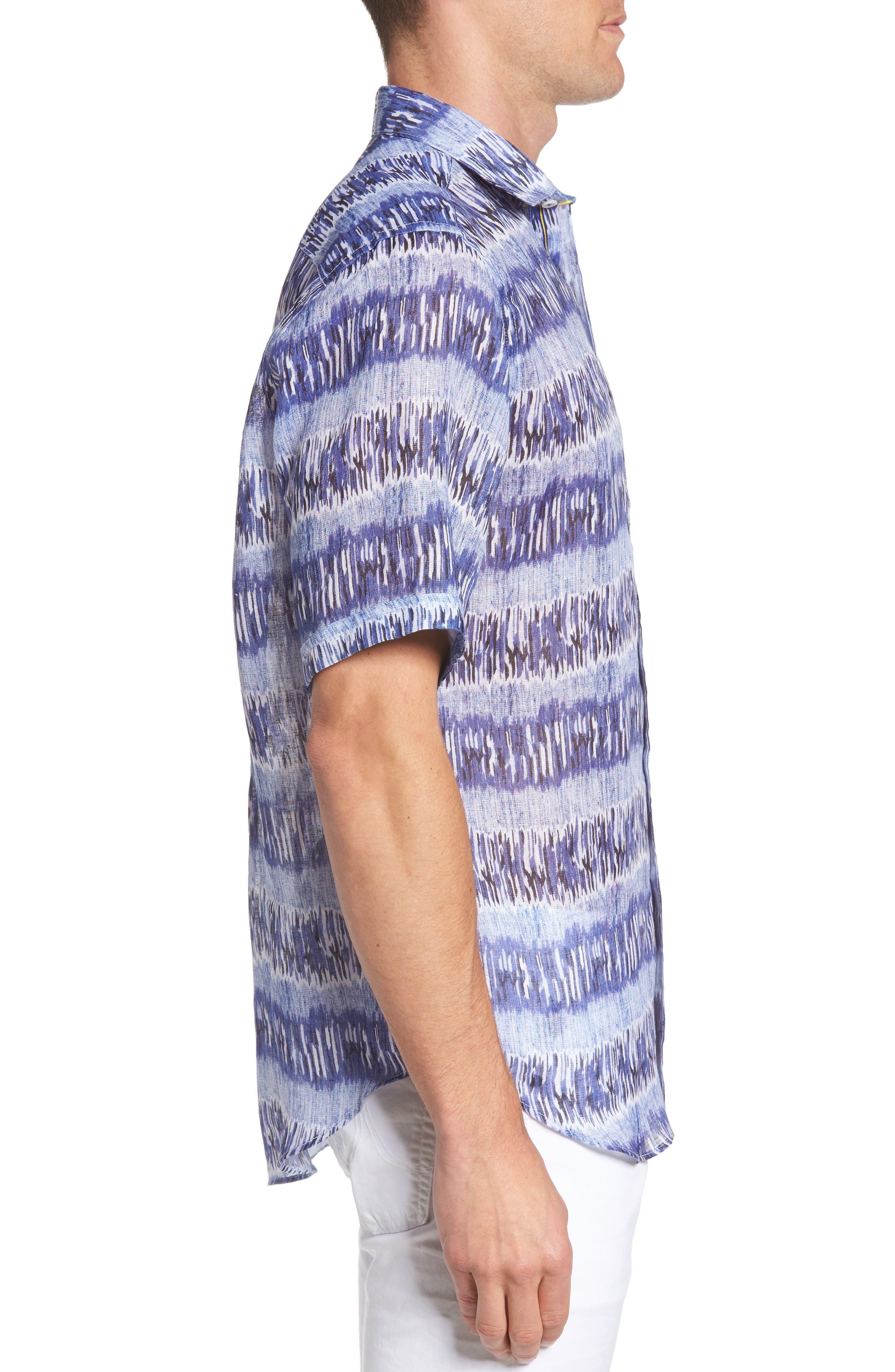 Classic Fit Check Sport Shirt,                             Alternate thumbnail 3, color,                             Classic Blue