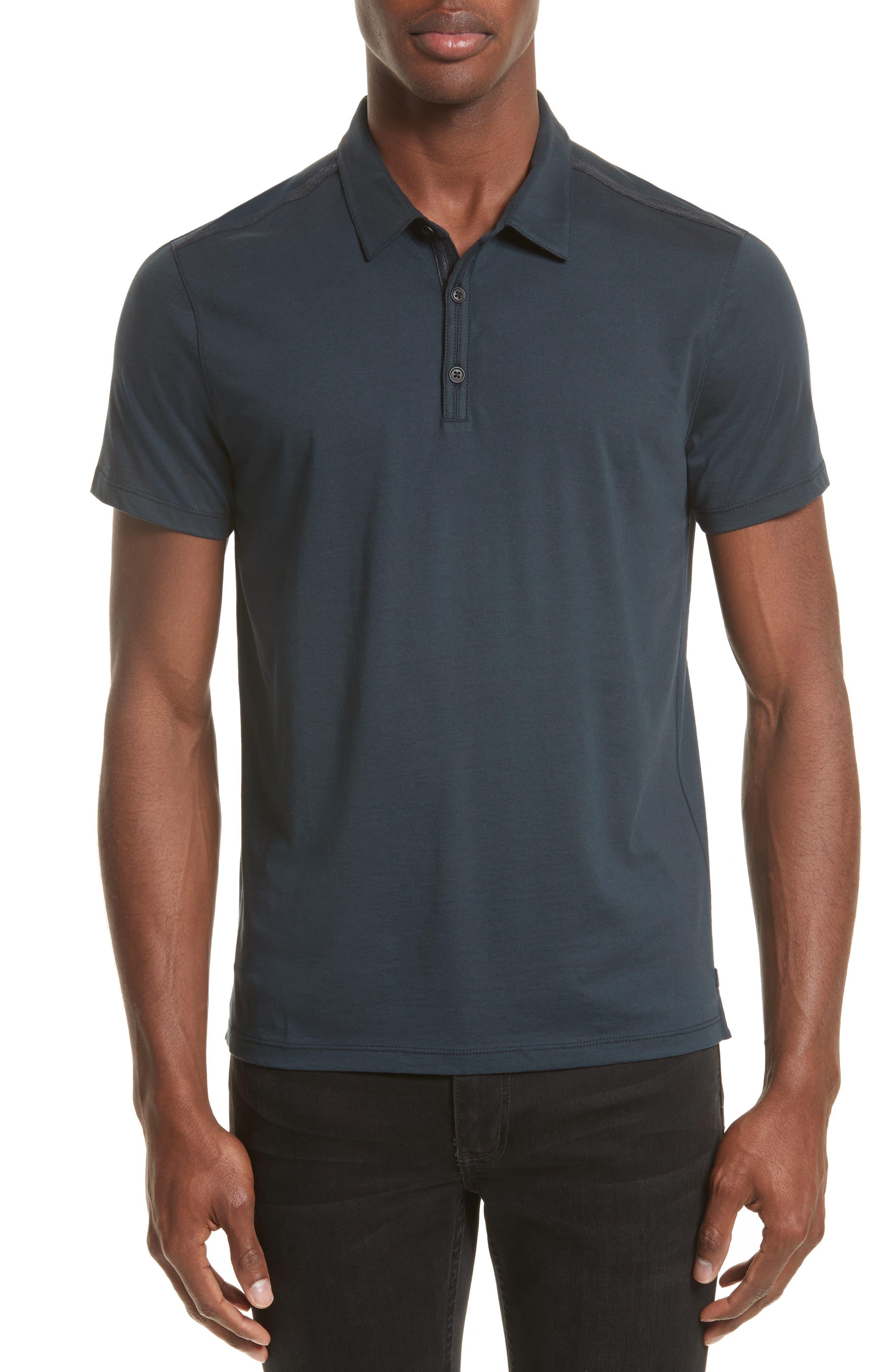 Alternate Image 1 Selected - John Varvatos Collection Pima Cotton Polo