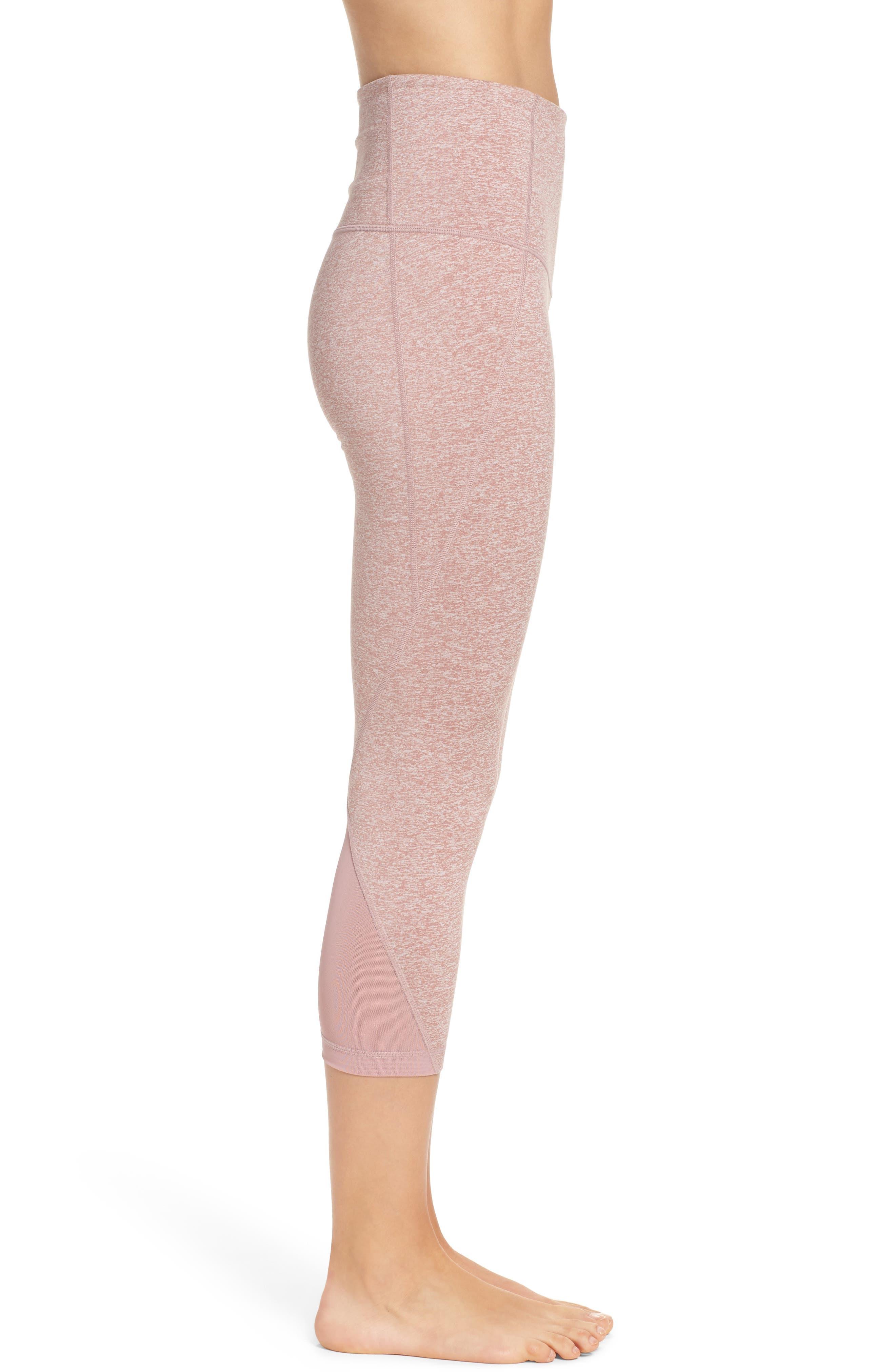 Alternate Image 3  - Zella 'Hatha' High Waist Crop Leggings
