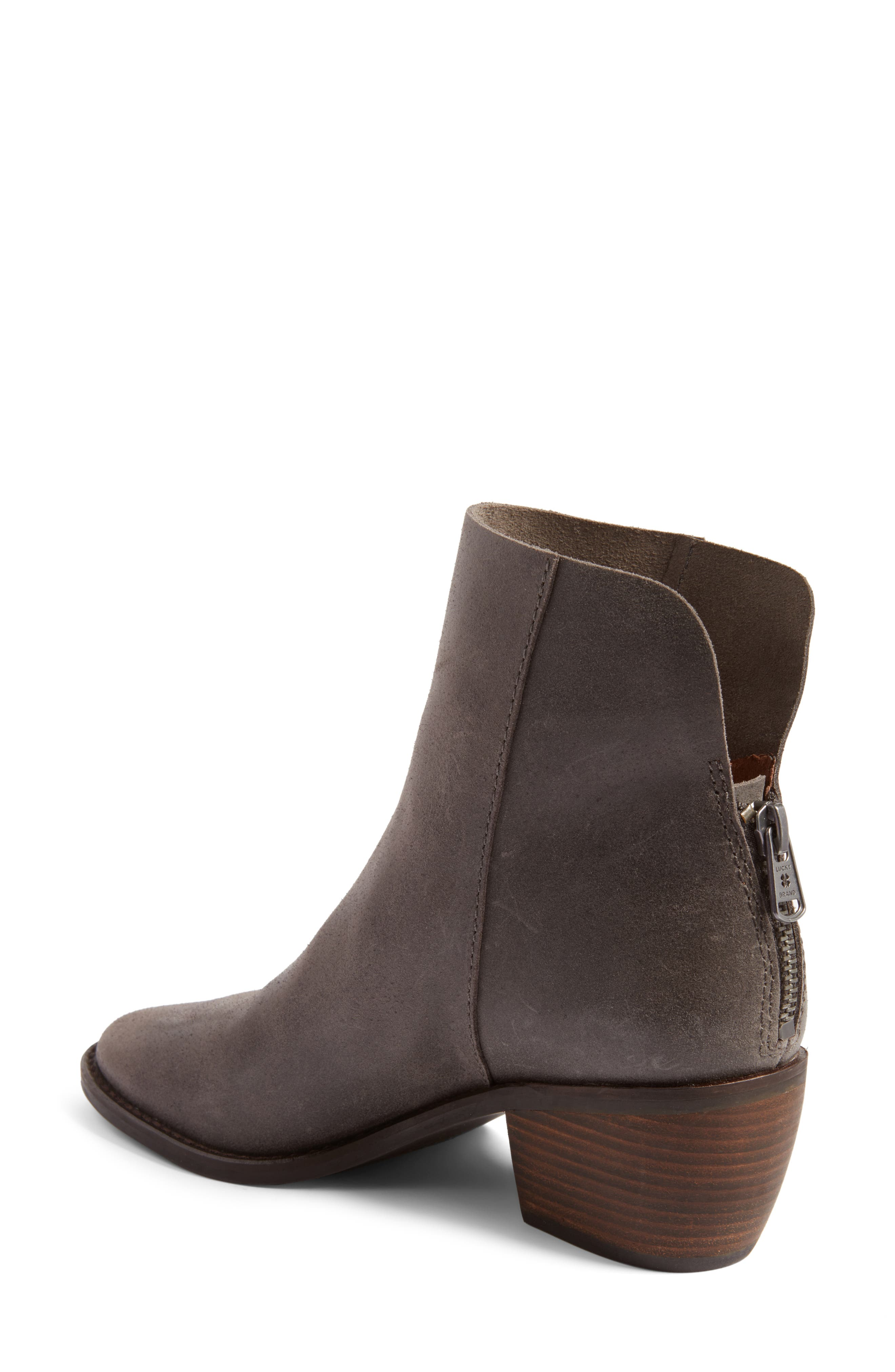 Alternate Image 2  - Lucky Brand Kaiya Pointy Toe Bootie (Women)