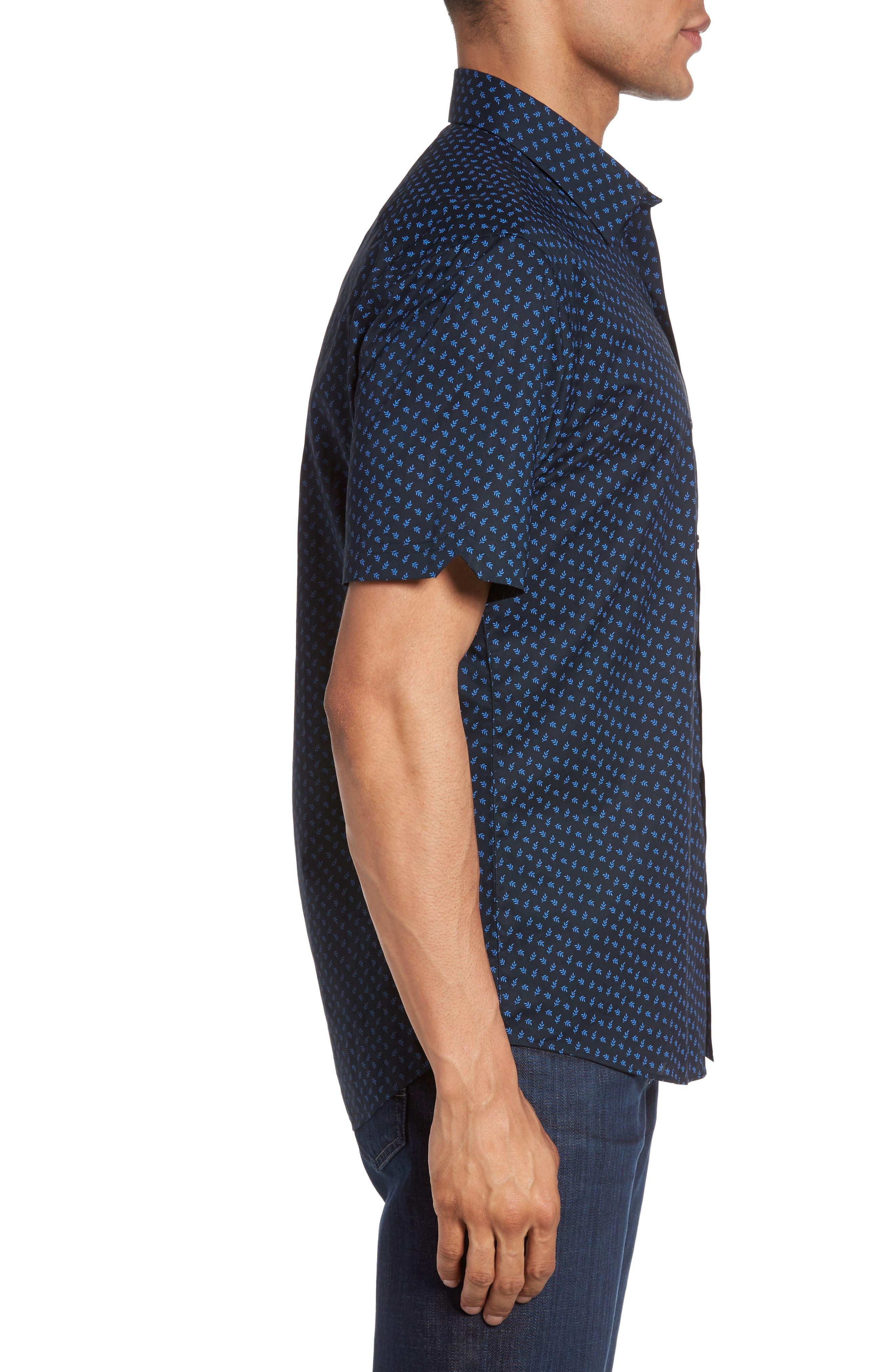 Alternate Image 3  - Zachary Prell Print Short Sleeve Sport Shirt