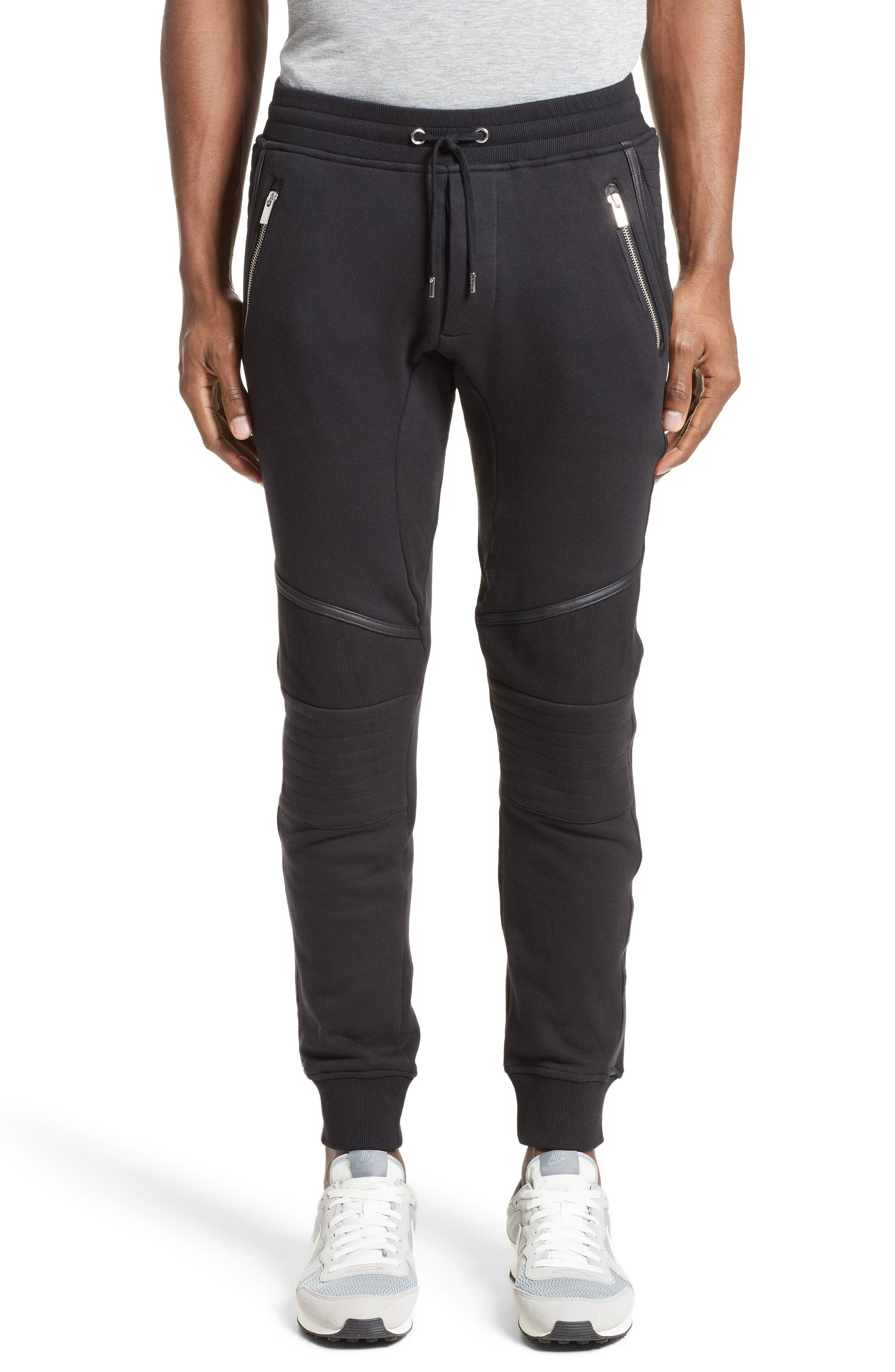 Alternate Image 1 Selected - The Kooples Moto Jogger Pants