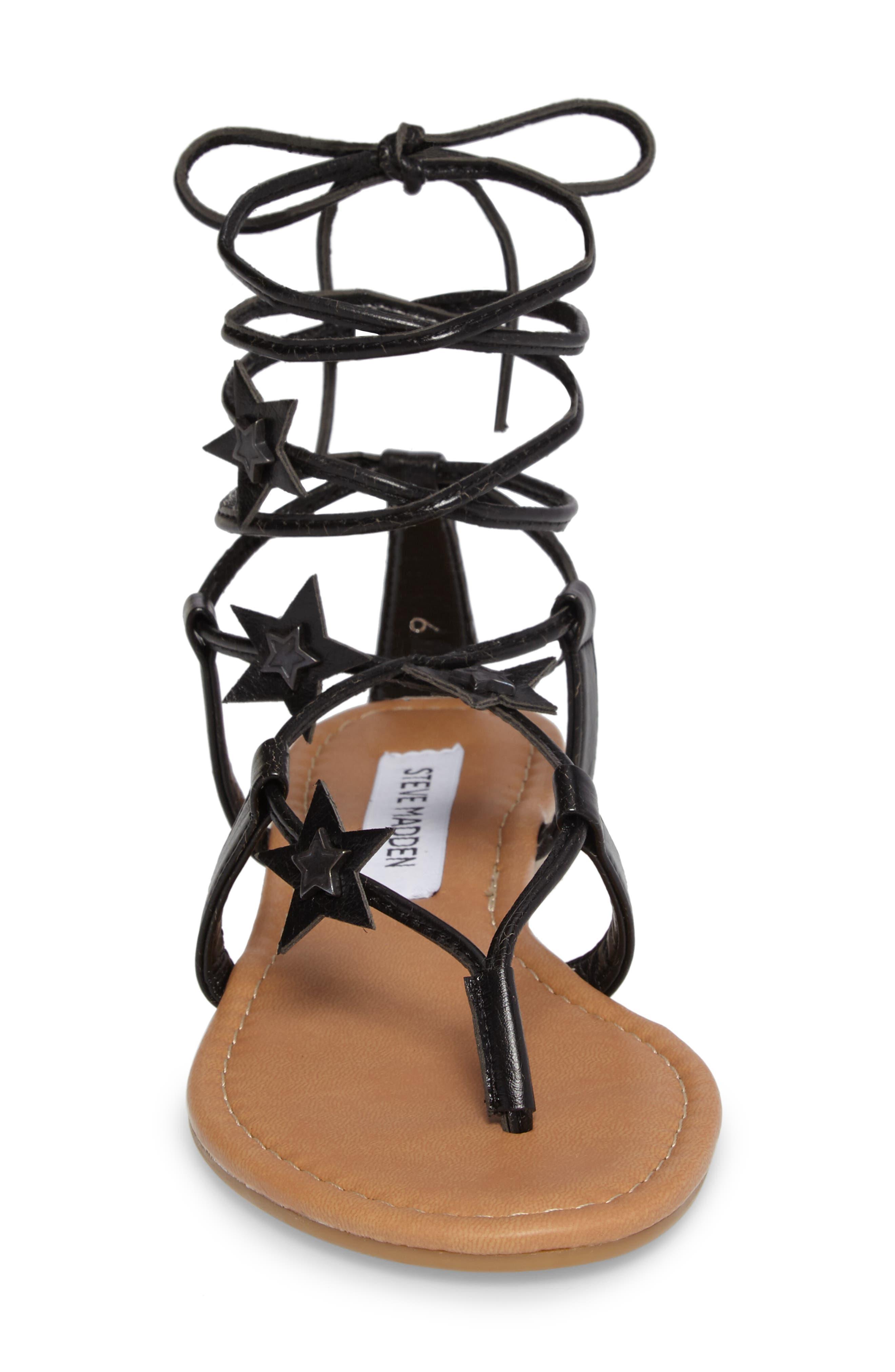 Alternate Image 4  - Steve Madden Jupiter Lace Up Sandal (Women)