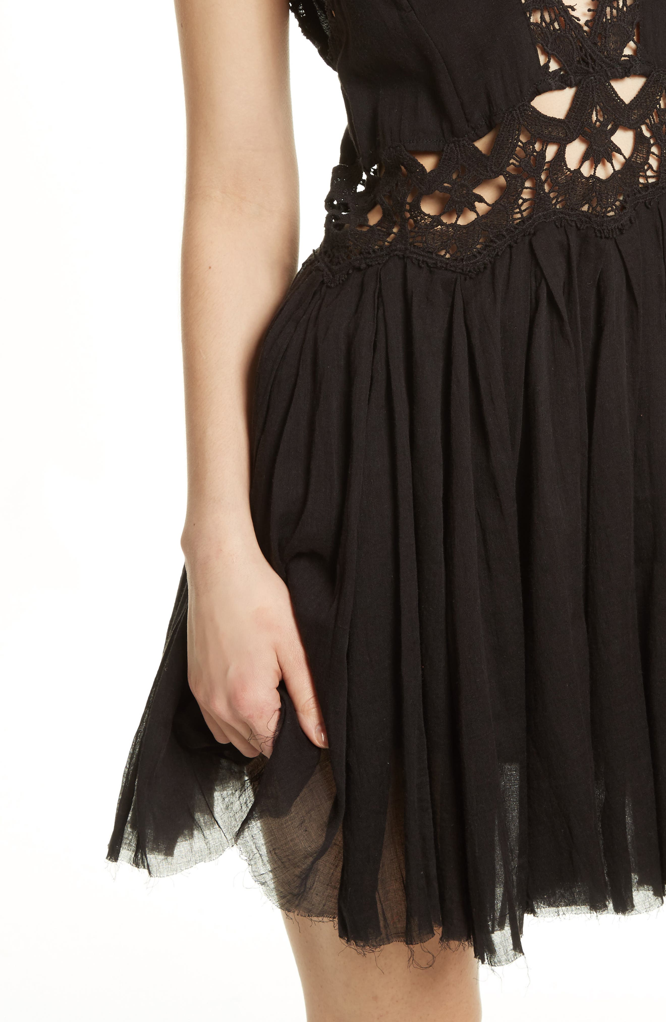 Alternate Image 4  - Free People Ilektra Lace Minidress