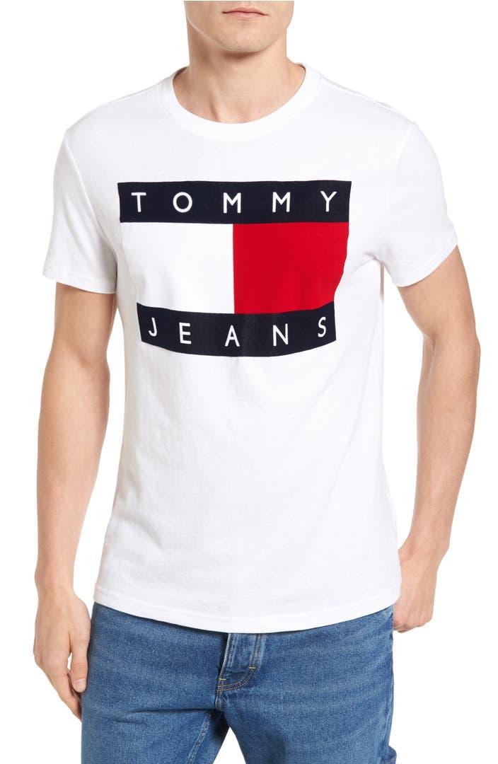 tommy hilfiger 39 90s flat t shirt nordstrom. Black Bedroom Furniture Sets. Home Design Ideas