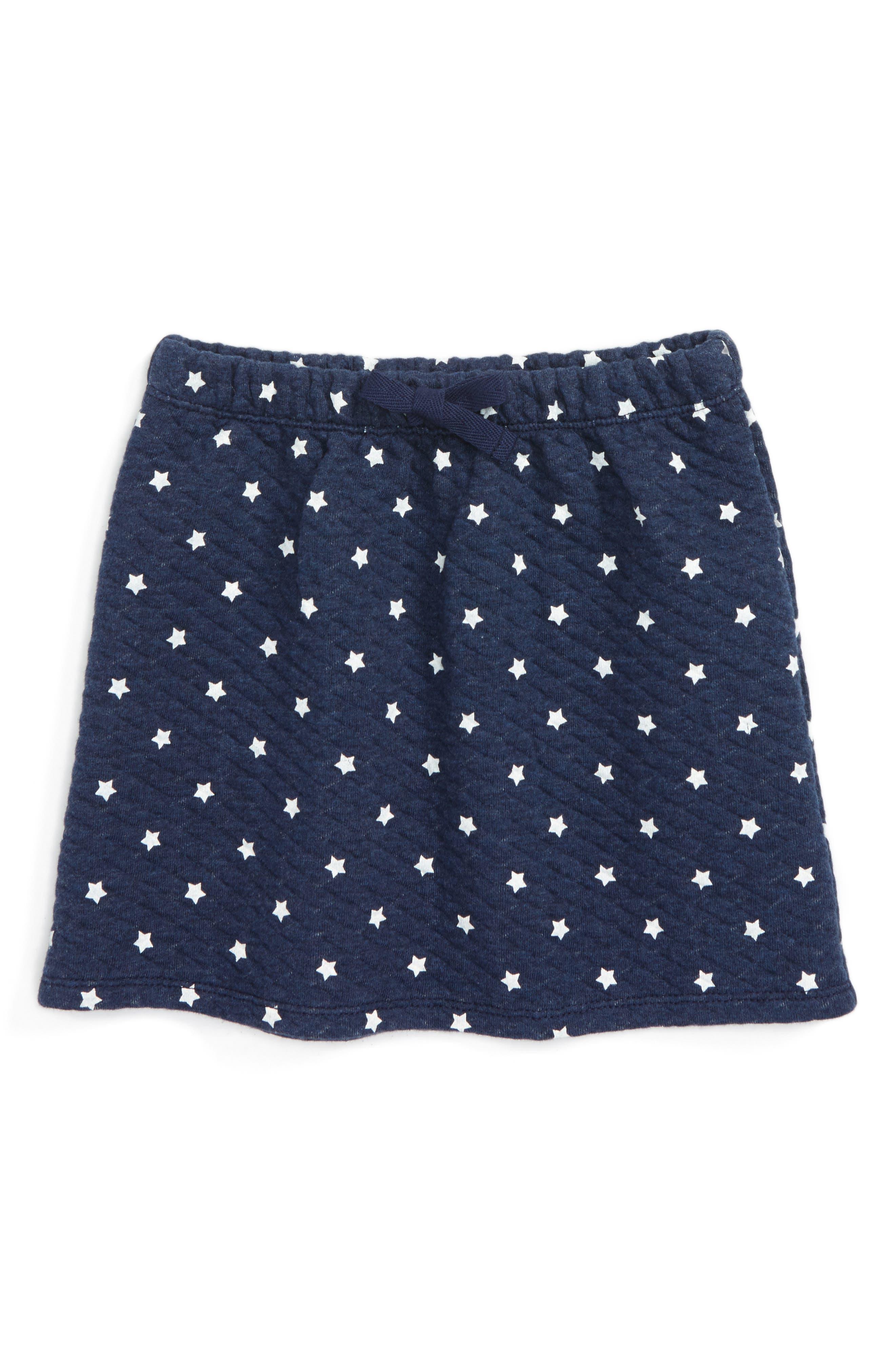 Thea Star Skirt,                             Main thumbnail 1, color,                             Navy Peacoat Heather Stars