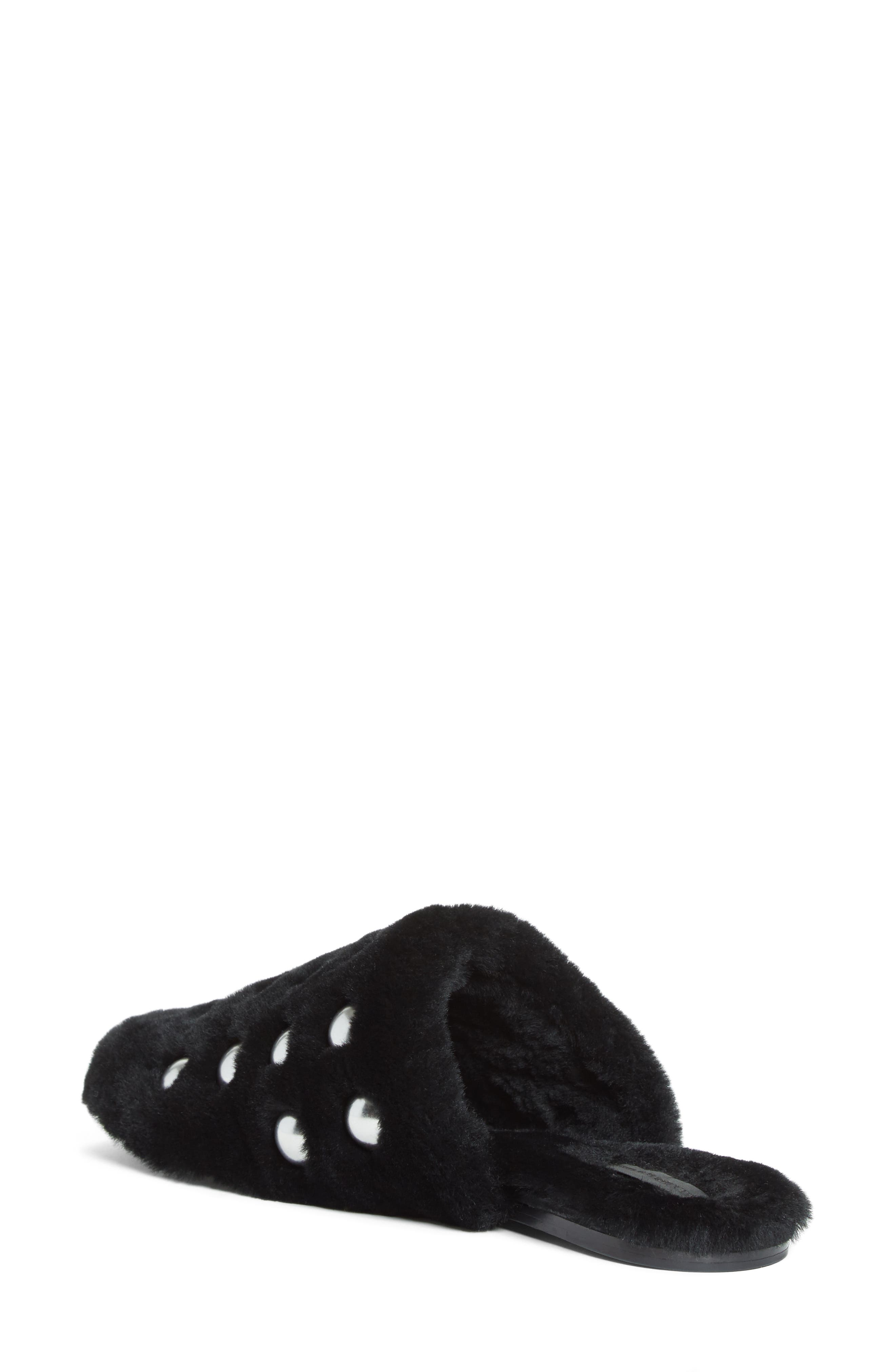 Alternate Image 2  - Alexander Wang Amelia Genuine Shearling Mule (Women)