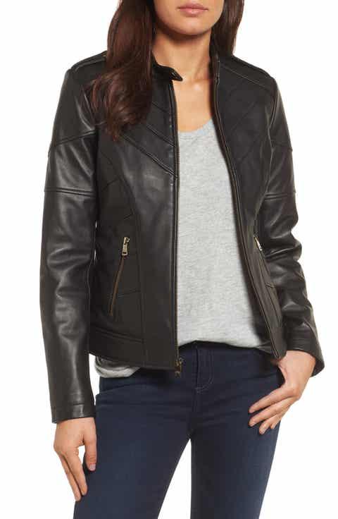 Women's Leather (Genuine) Jackets Sale | Coats & Outerwear ...
