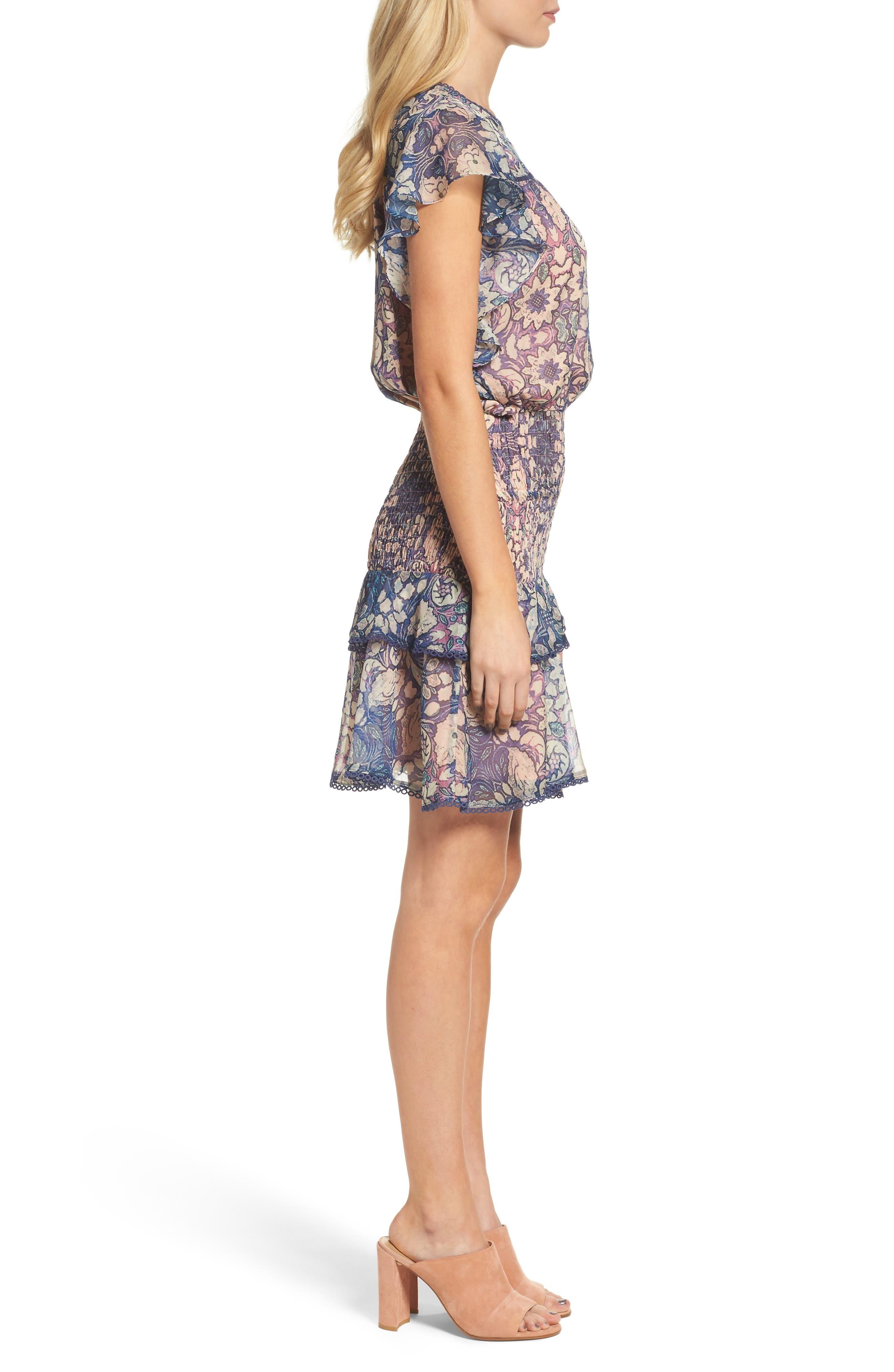 Alternate Image 3  - Chelsea28 Tiered Blouson Dress