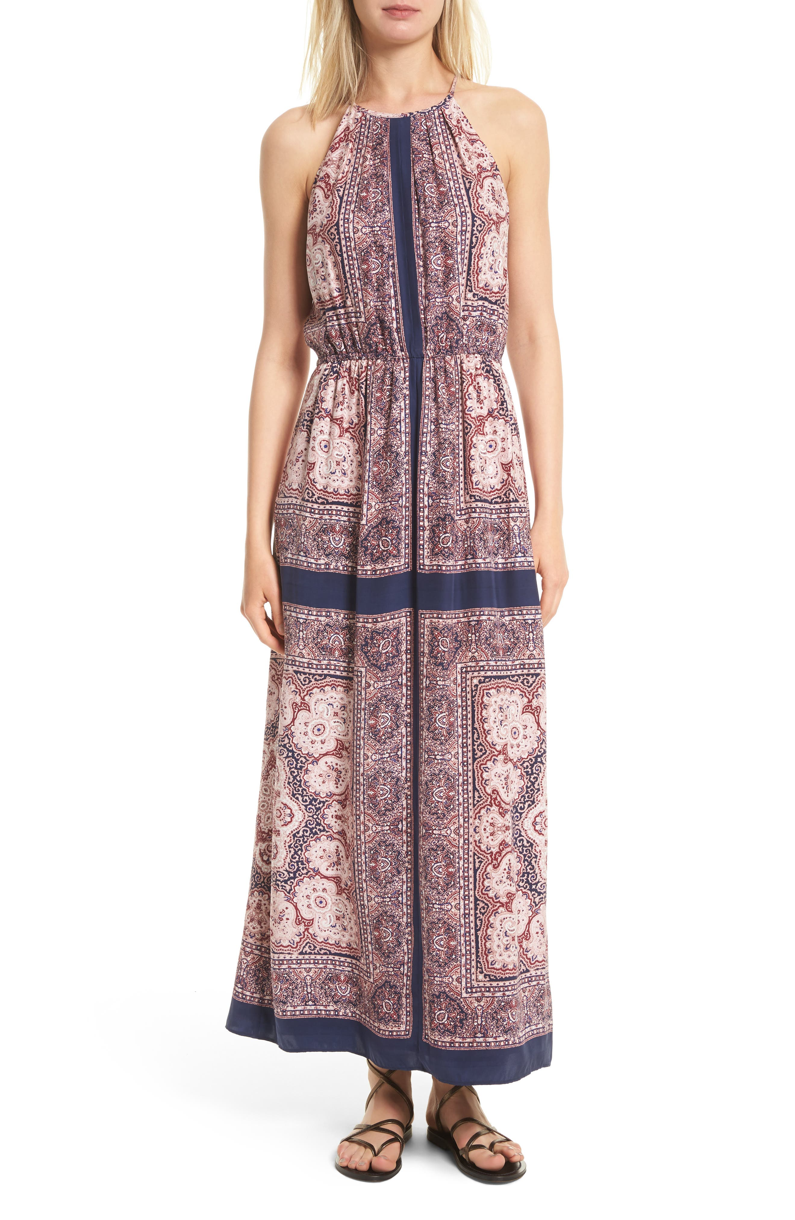 Joie Alandra Silk Maxi Dress