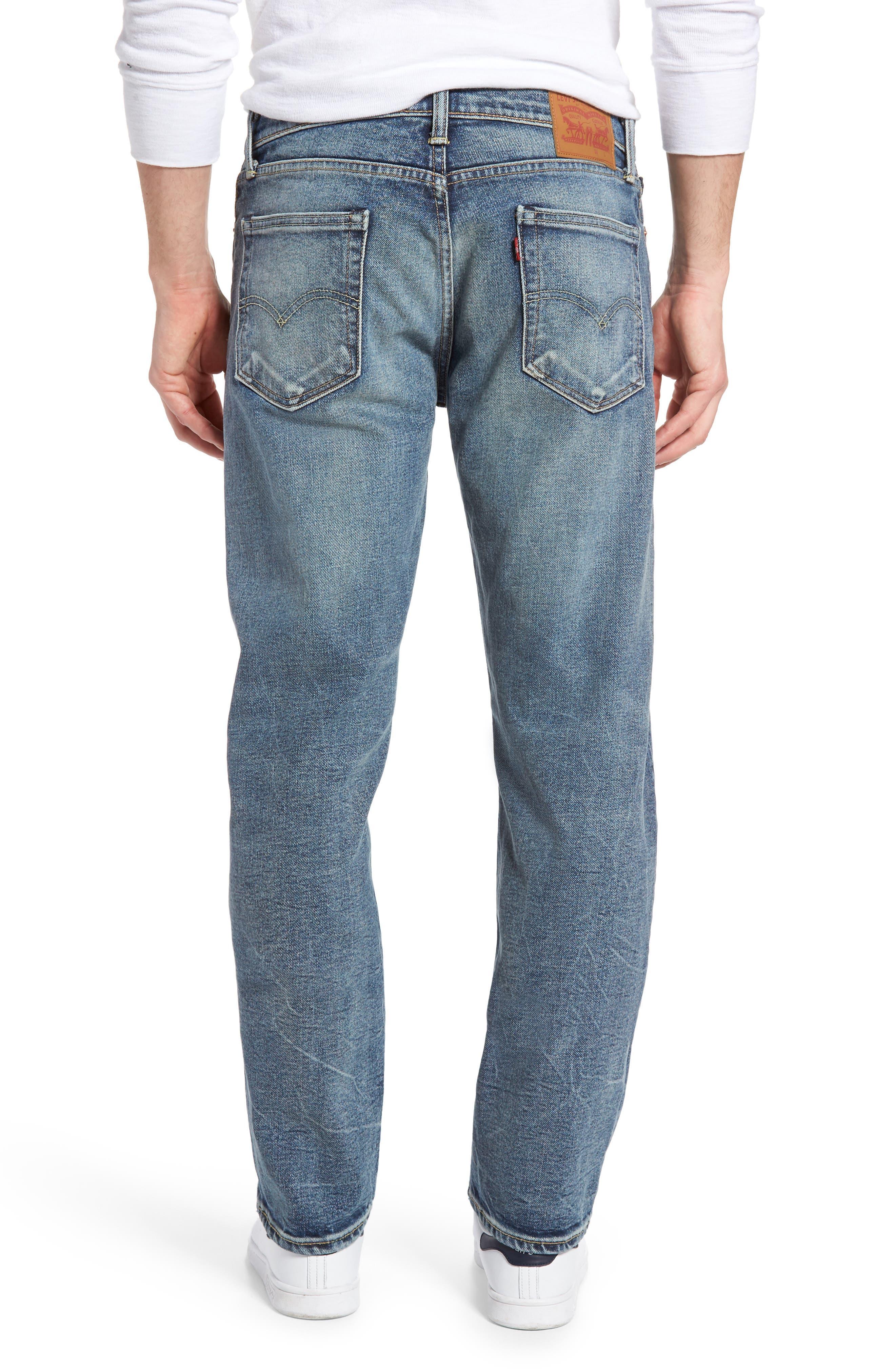 Alternate Image 2  - Levi's® 513™ Slim Straight Leg Jeans (Danz)