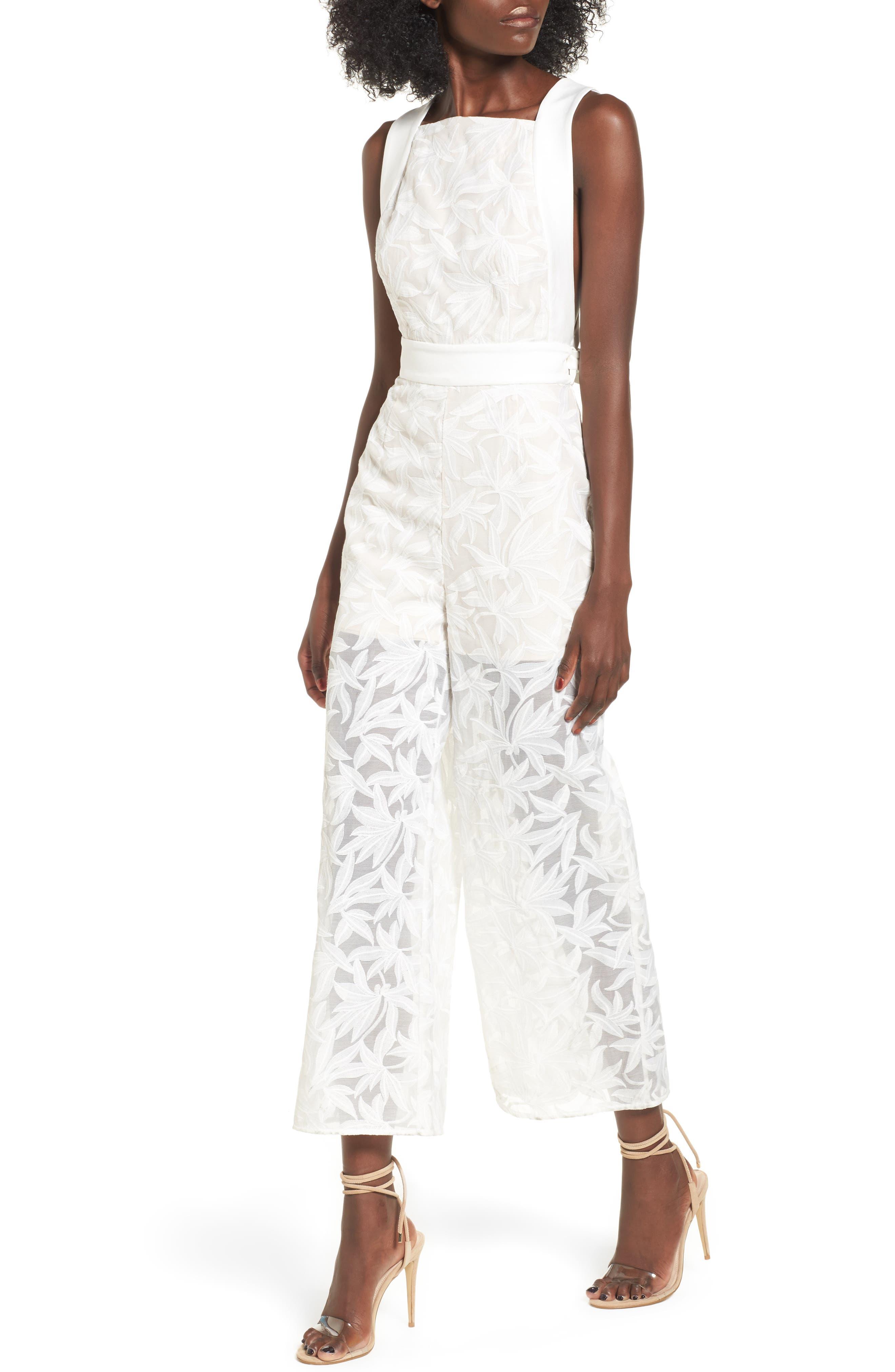 Plain Sight Jumpsuit,                         Main,                         color, Ivory
