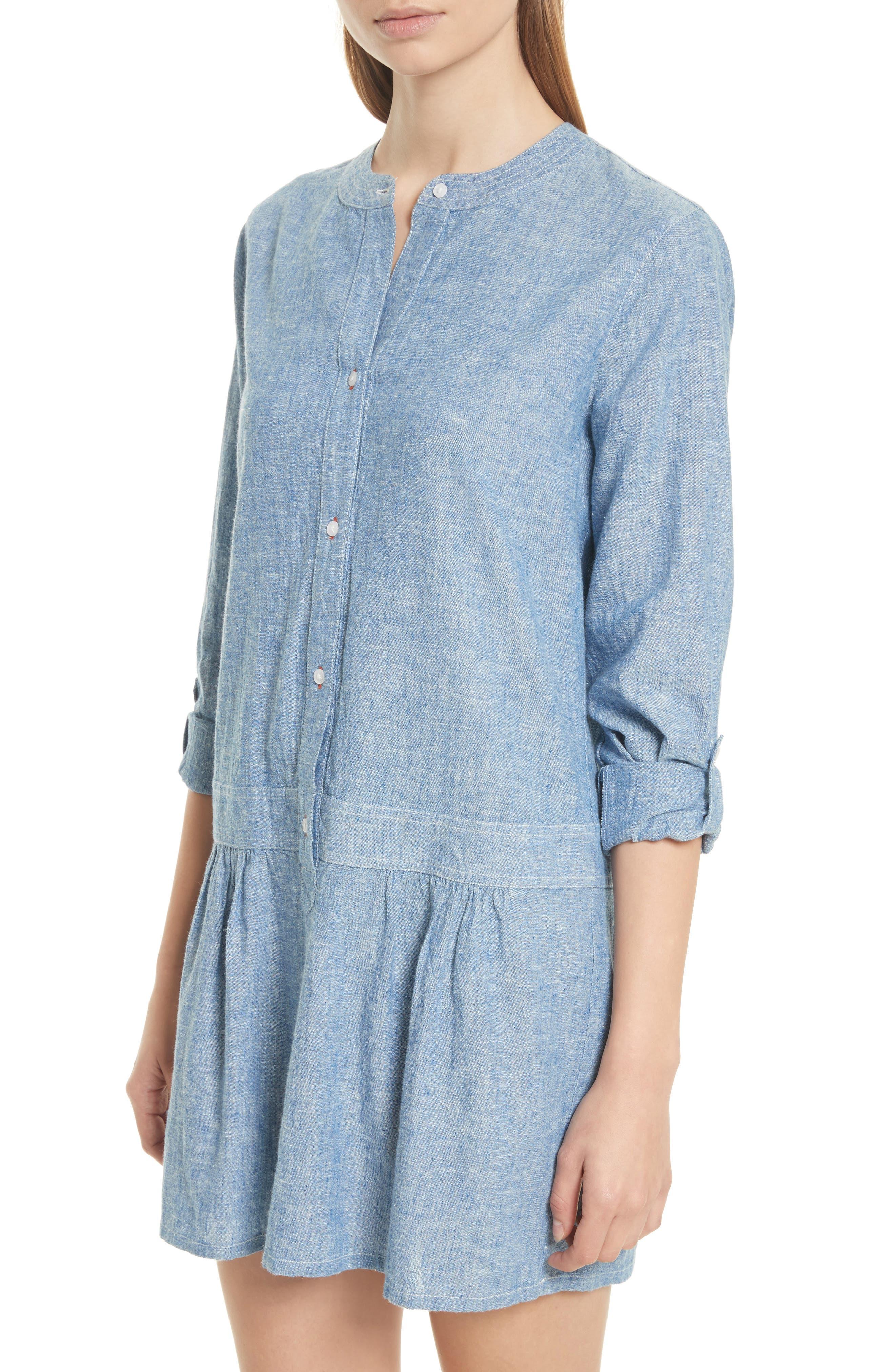 Alternate Image 3  - Soft Joie Amiri Chambray Shirtdress