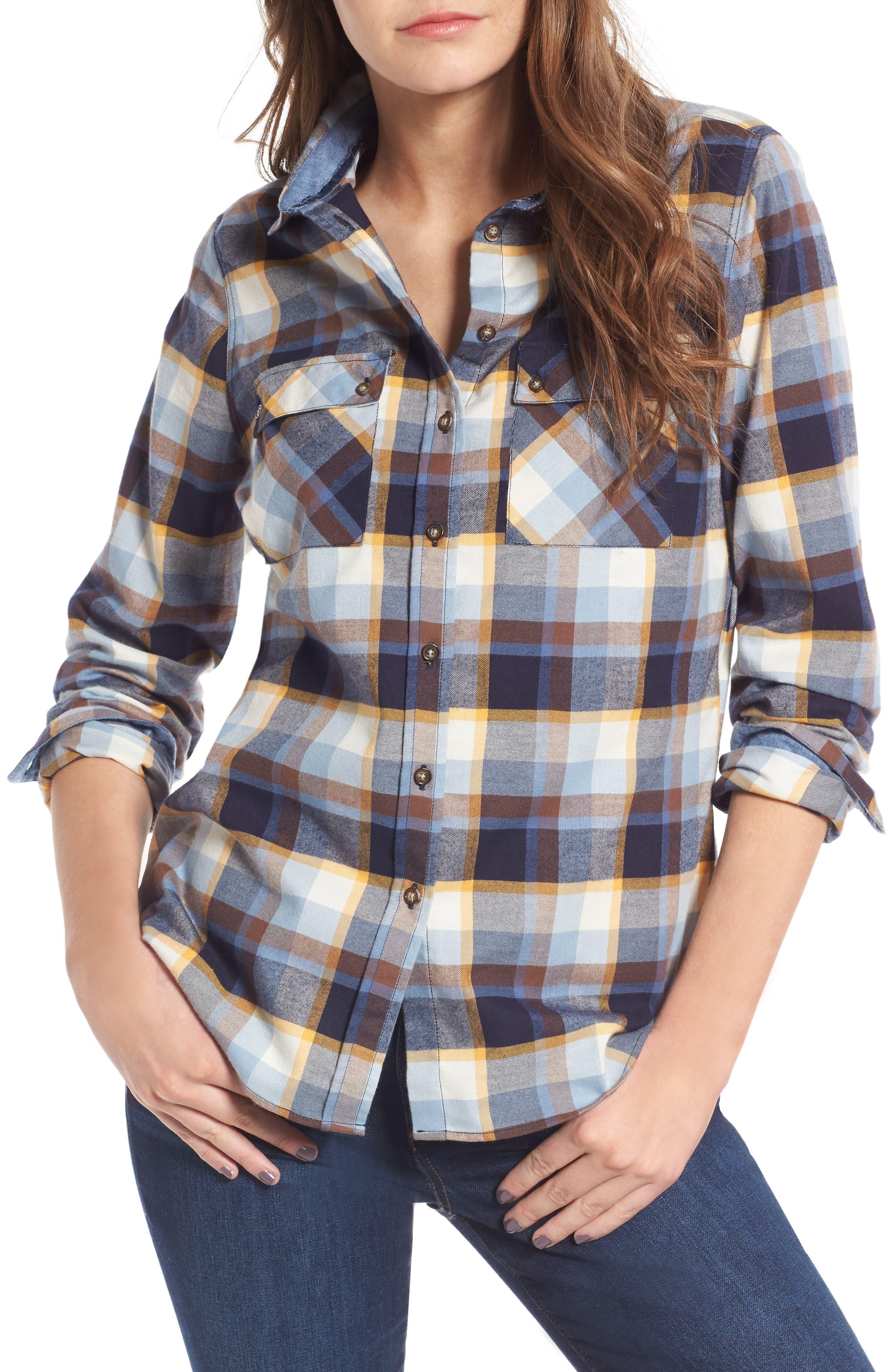 Barbour Darwin Plaid Cotton Shirt