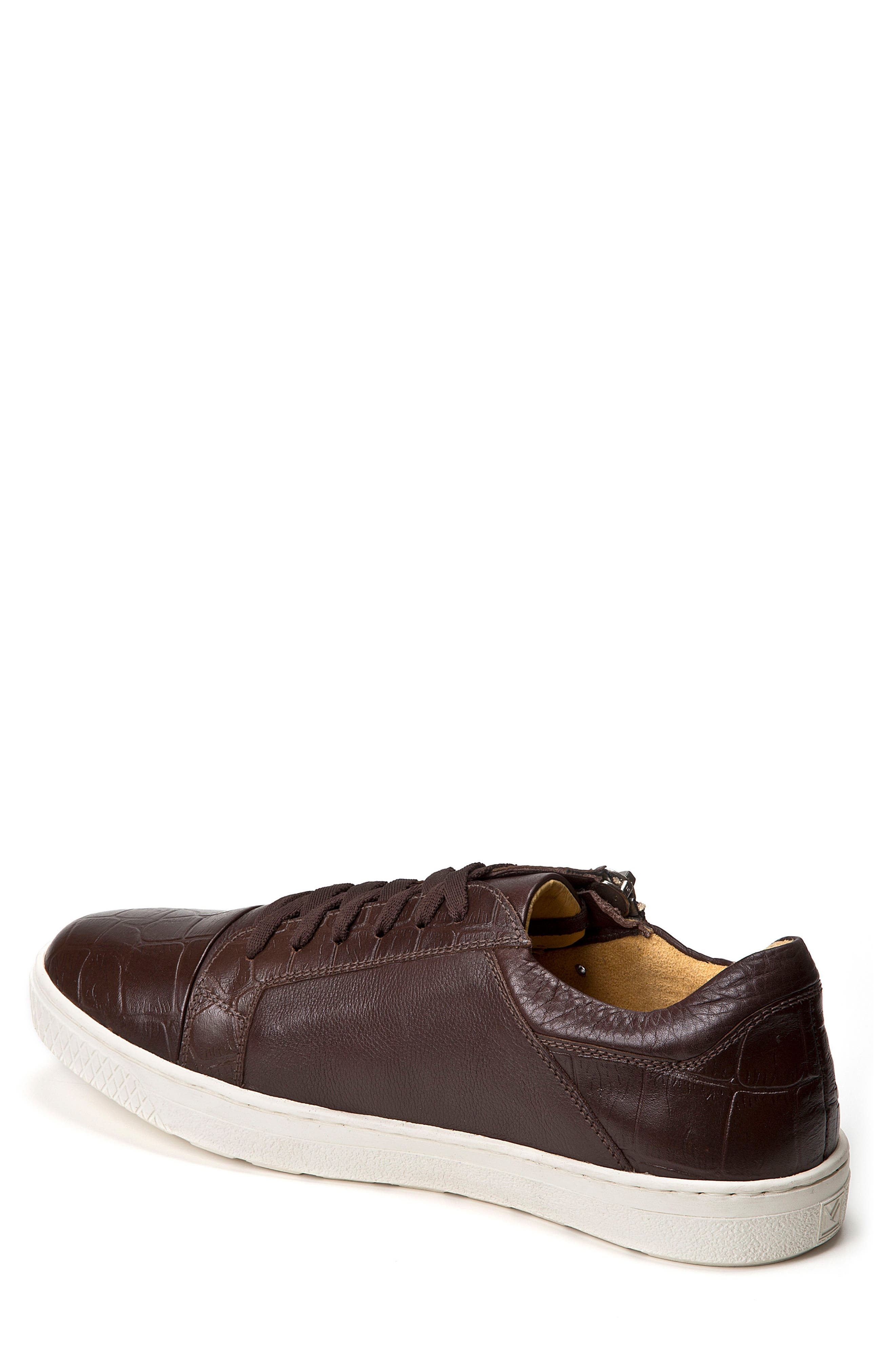 Alternate Image 2  - Sandro Moscoloni Cassius Side Zip Sneaker (Men)