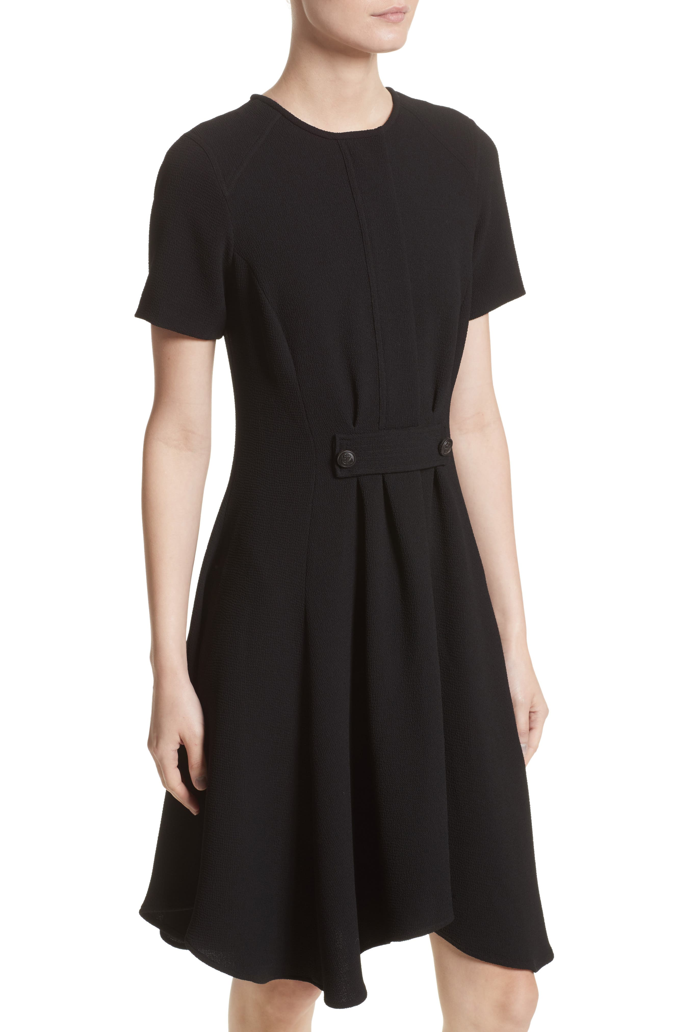 Maressa Dress,                             Alternate thumbnail 7, color,                             Black
