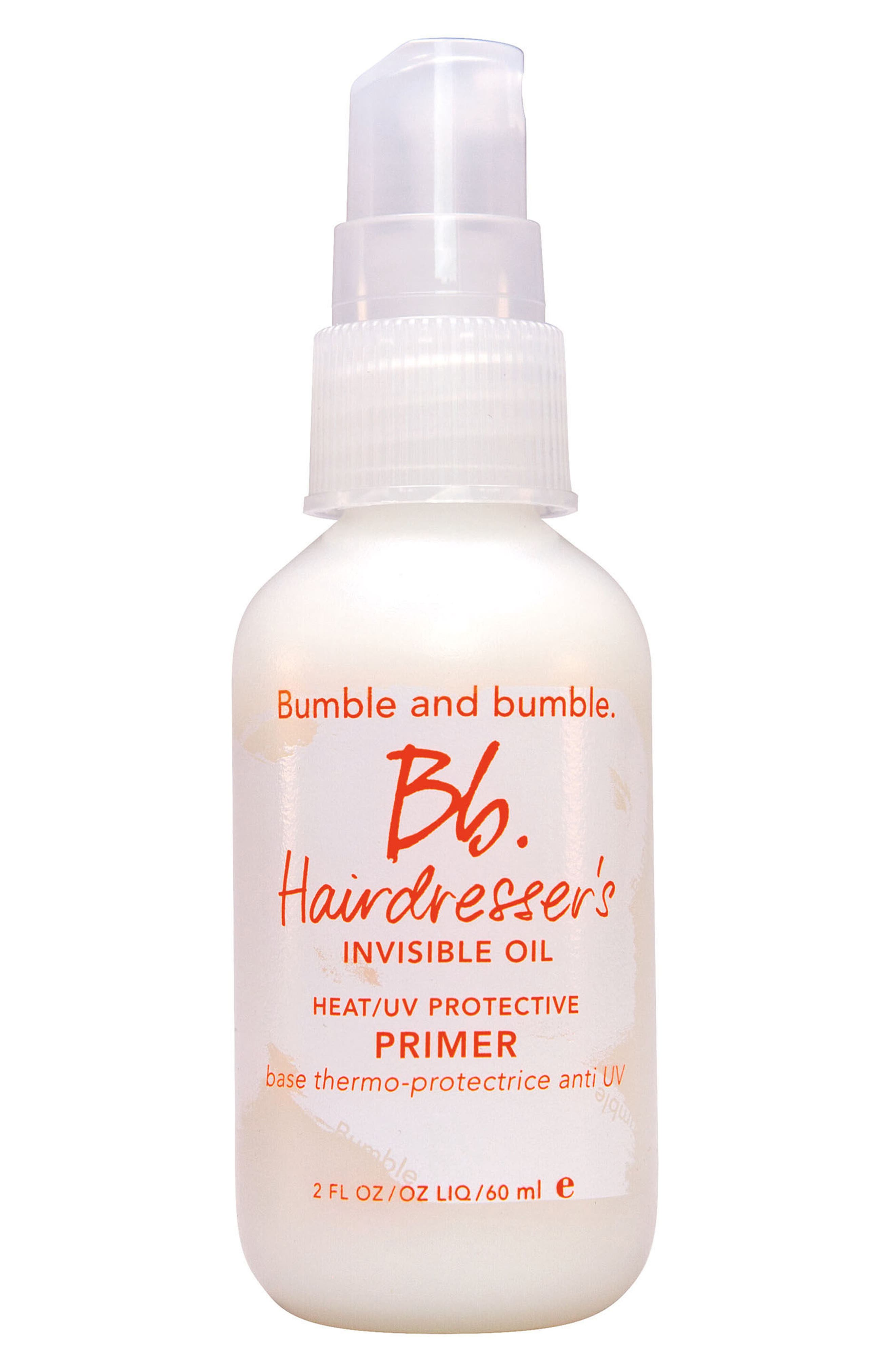 Hairdresser's Invisible Oil Heat/UV Protective Primer,                             Alternate thumbnail 2, color,                             No Color
