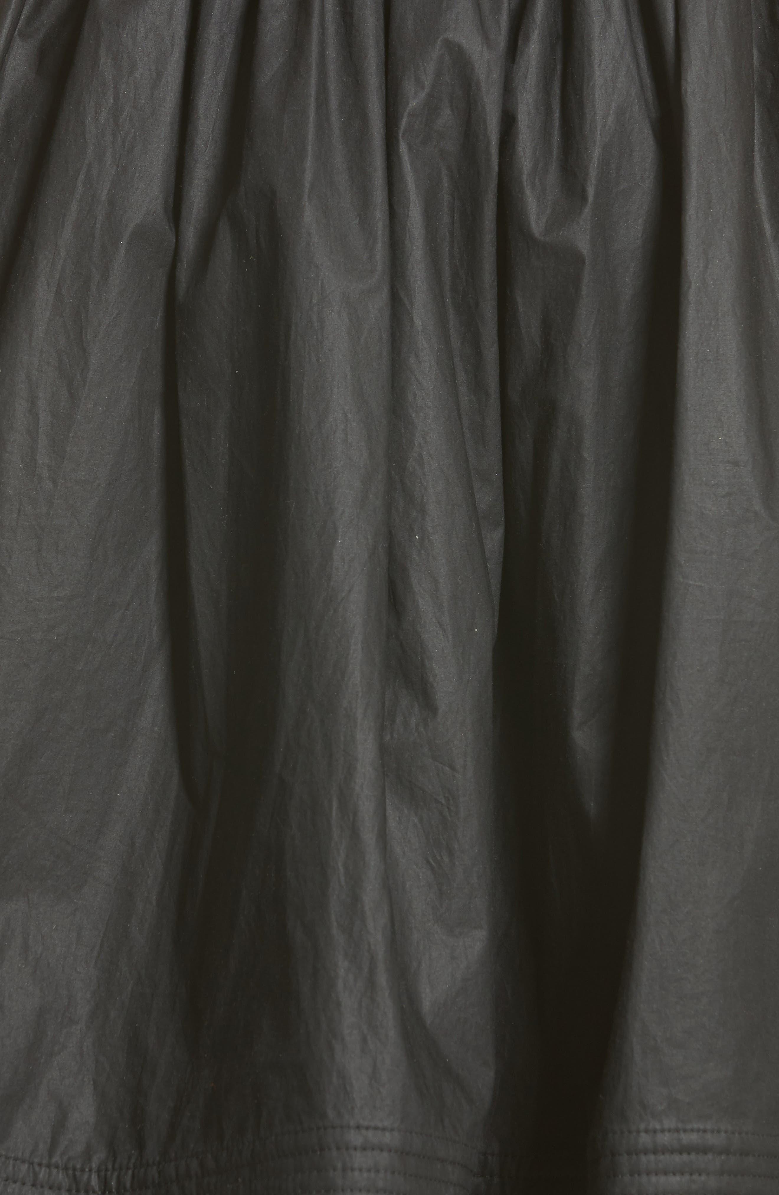 Alternate Image 5  - Moncler Gonna Cotton A-Line Skirt