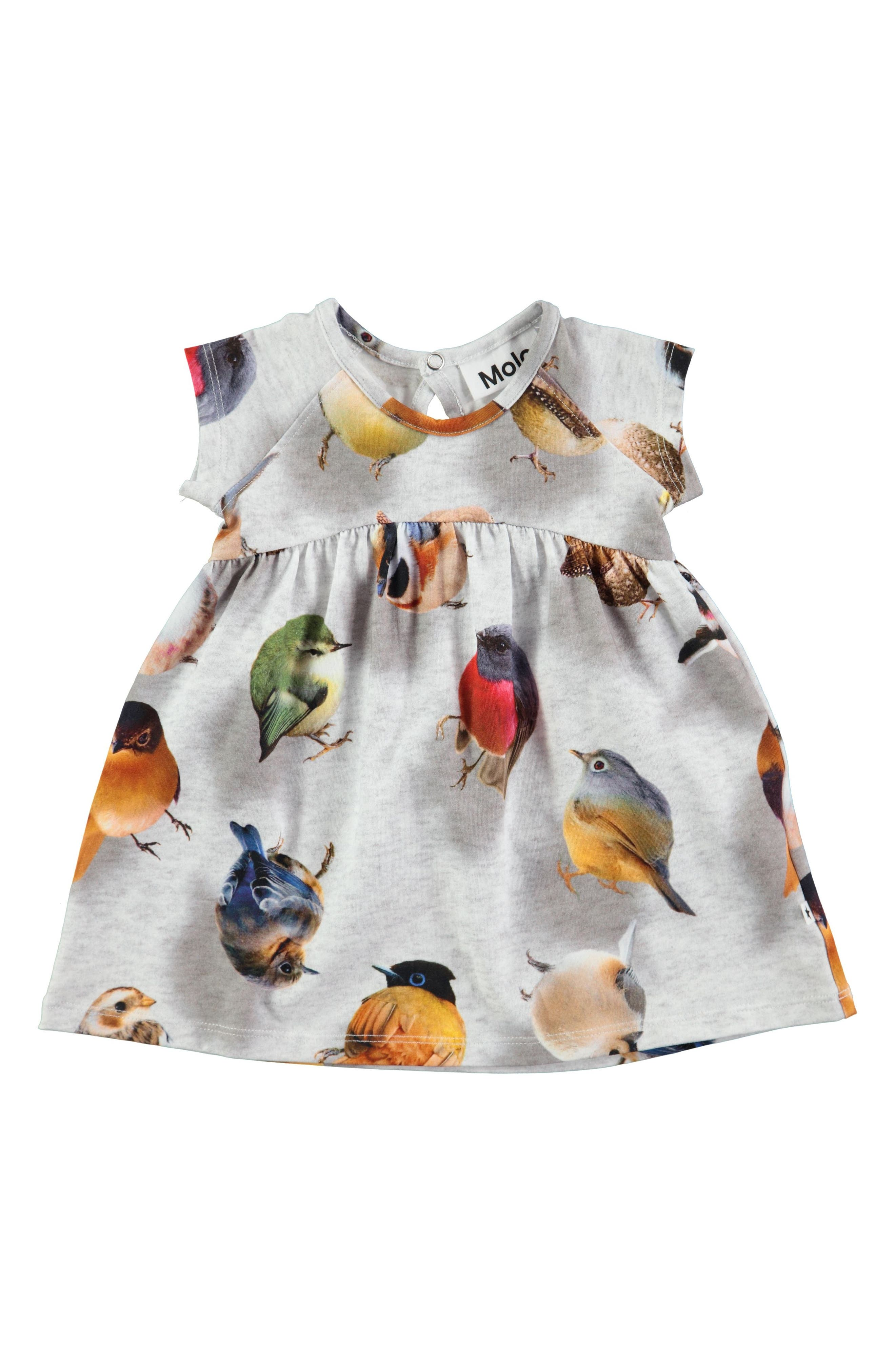 Molo Cille Floral Dress (Baby Girls)
