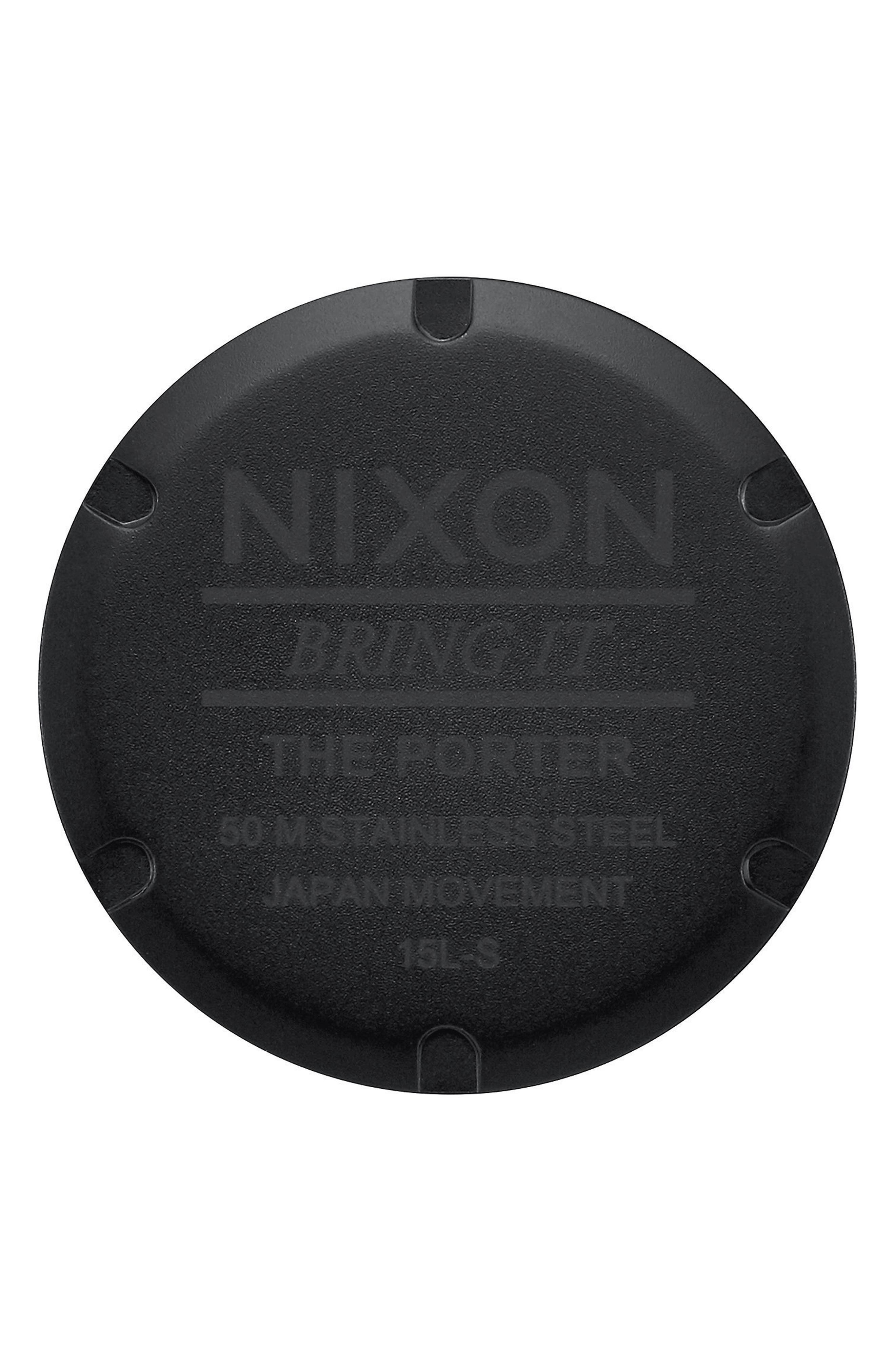 Alternate Image 4  - Nixon Porter Bracelet Watch, 40mm