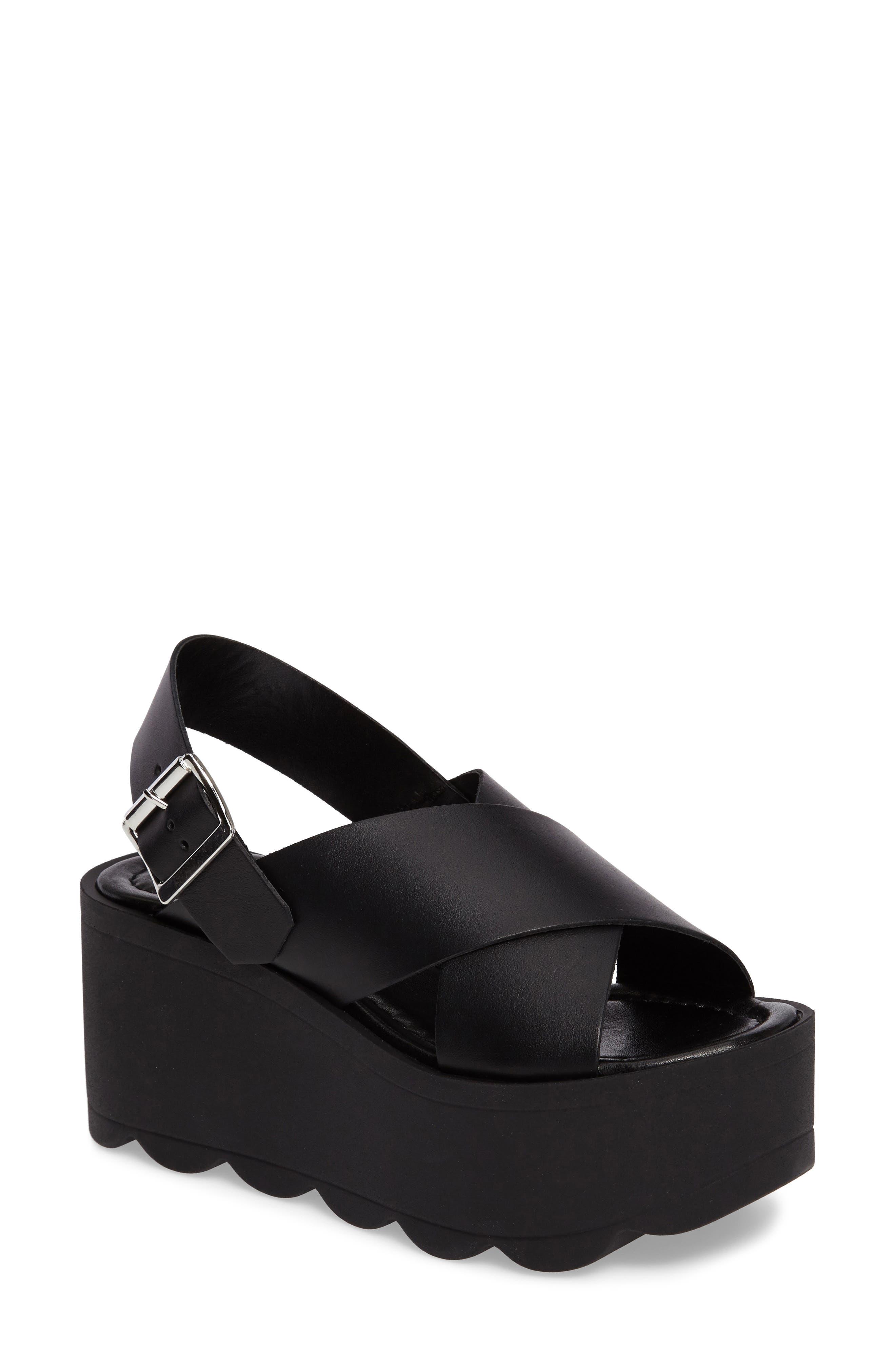 Main Image - Steve Madden Gigi Platform Wedge Sandal (Women)