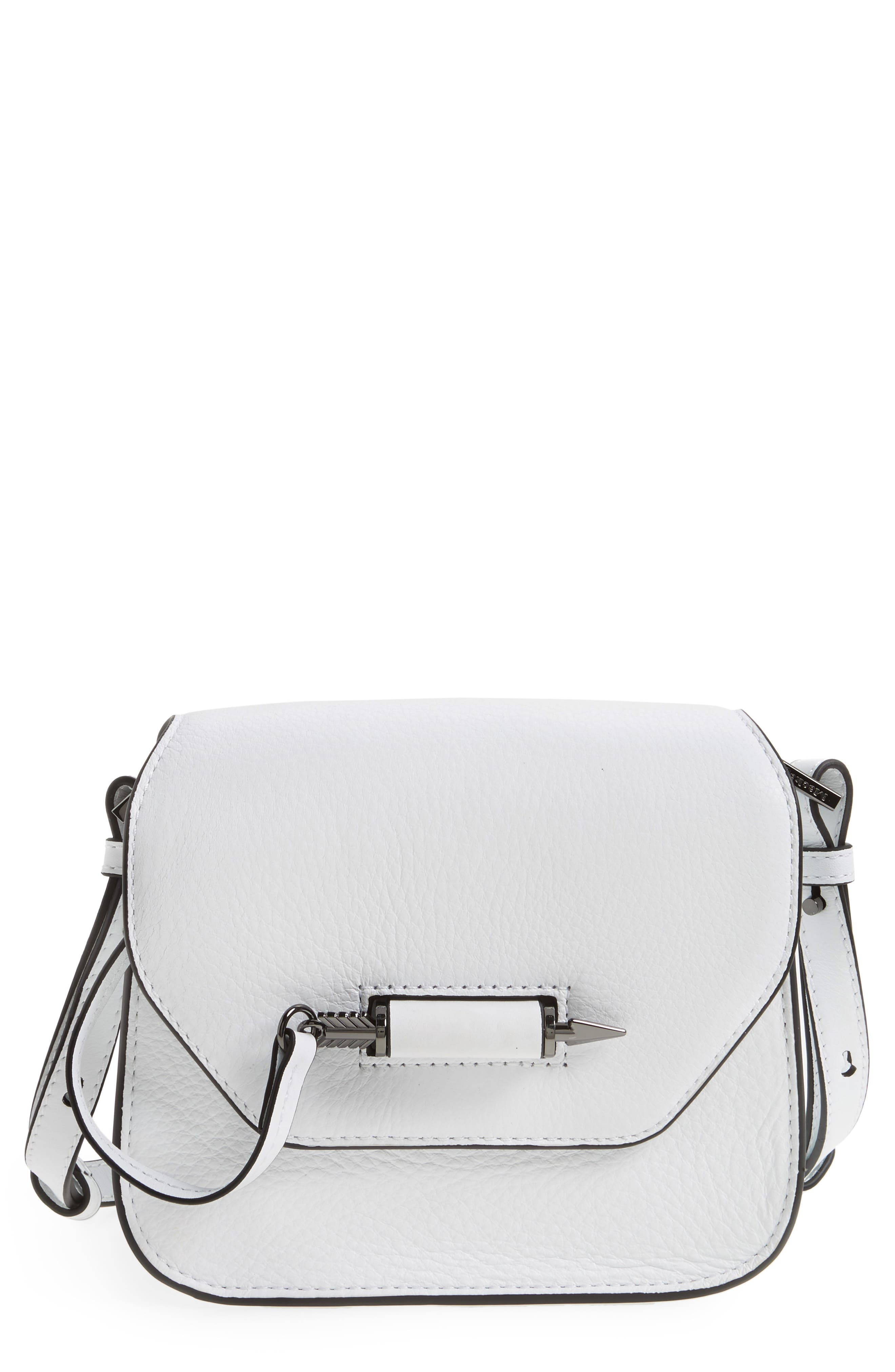 Alternate Image 1 Selected - Mackage Mini Novacki Leather Crossbody Bag