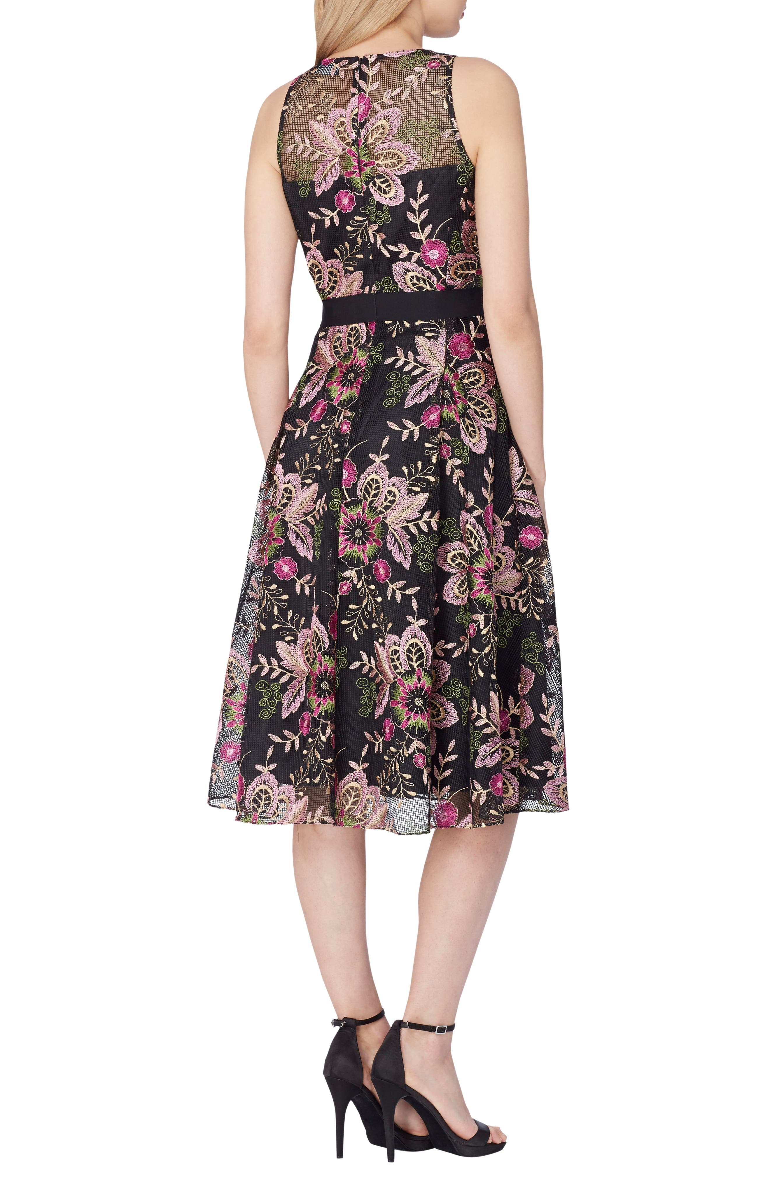 Alternate Image 2  - Tahari Fit & Flare Dress
