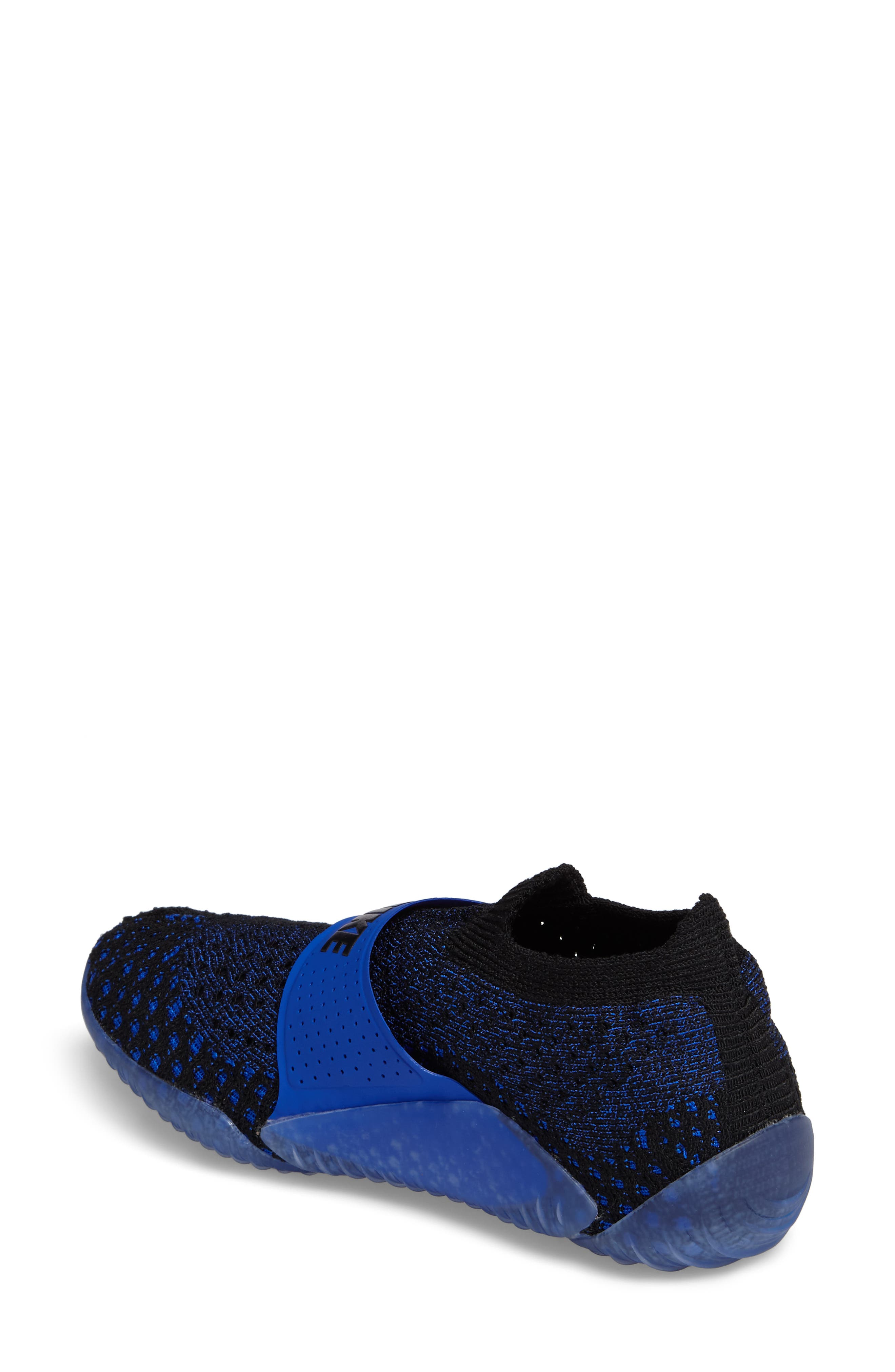 City Knife 3 Flyknit Sneaker,                             Alternate thumbnail 2, color,                             Racer Blue/ Black/ Black