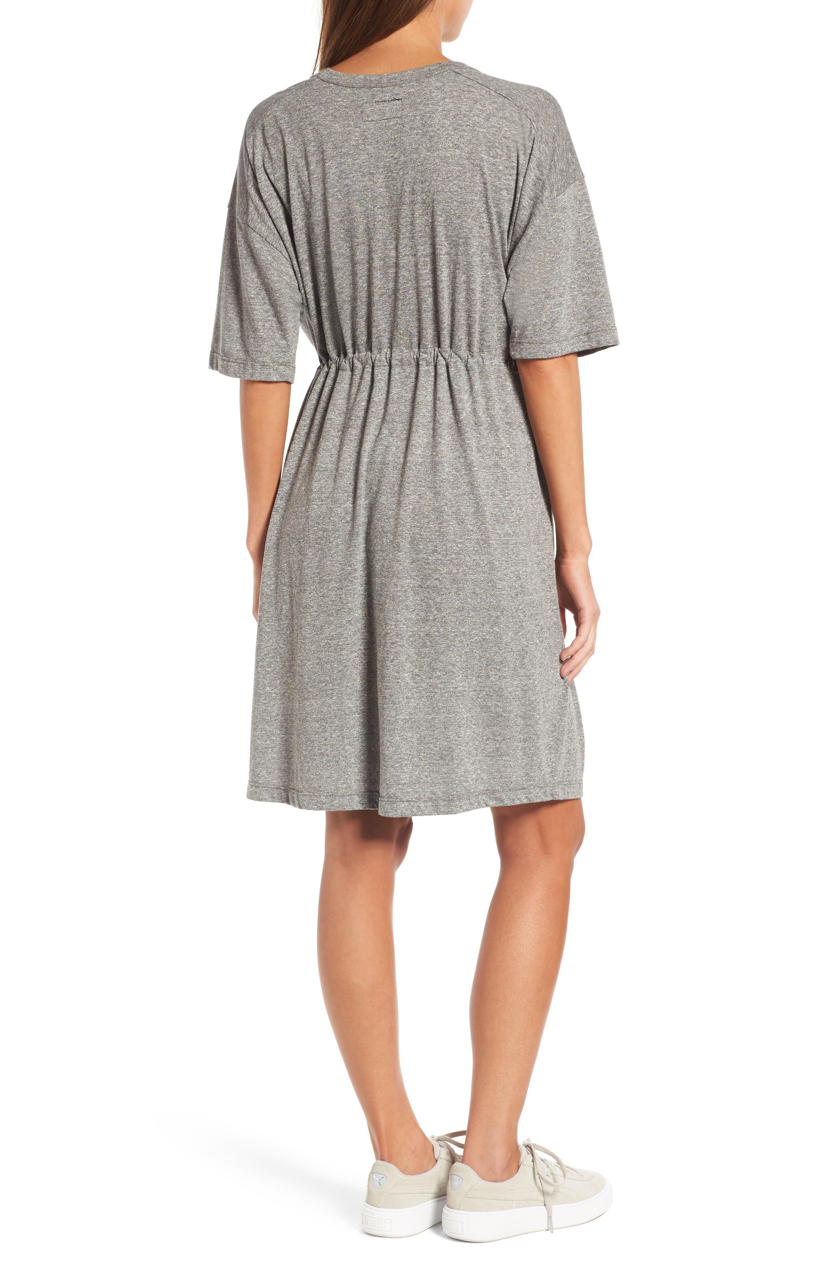 Alternate Image 2  - Current/Elliott Drawstring Waist Shift Dress
